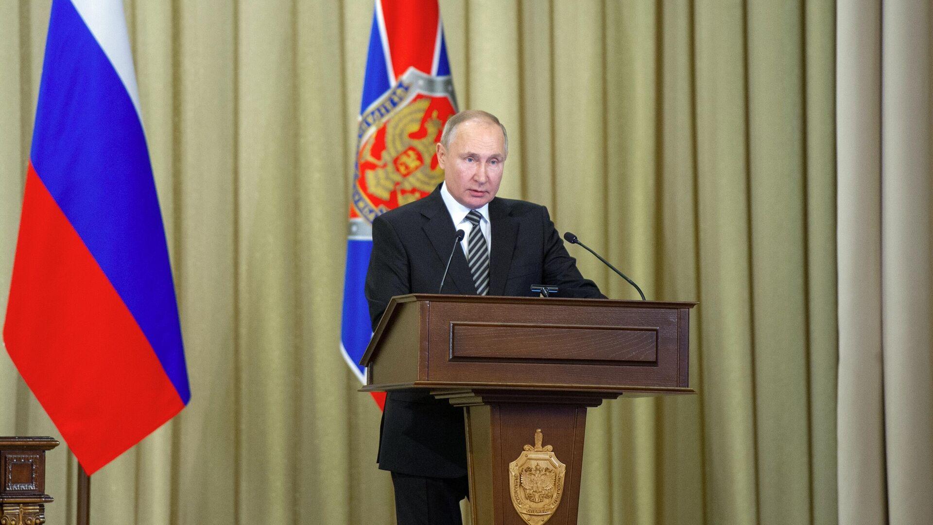 Vladímir Putin, presidente de Rusia - Sputnik Mundo, 1920, 24.02.2021