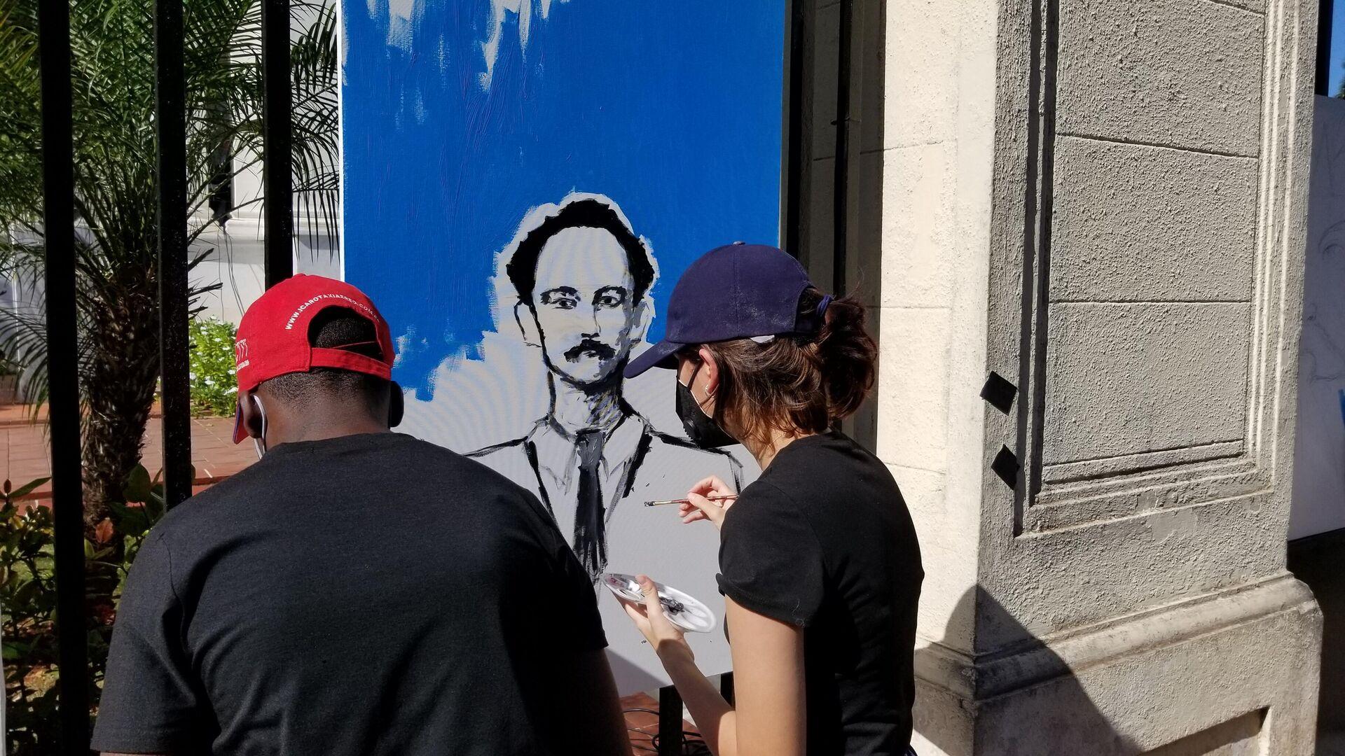 Los cubanos recuerdan el 126 aniversario del reinicio de la guerra de independencia de Cuba - Sputnik Mundo, 1920, 24.02.2021
