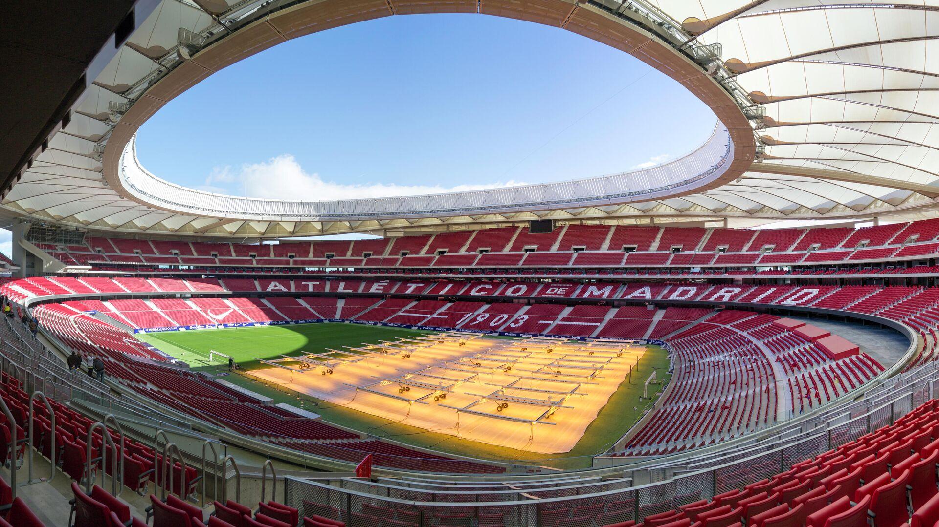 El estadio Wanda Metropolitano, cancha del Atlético de Madrid - Sputnik Mundo, 1920, 25.02.2021