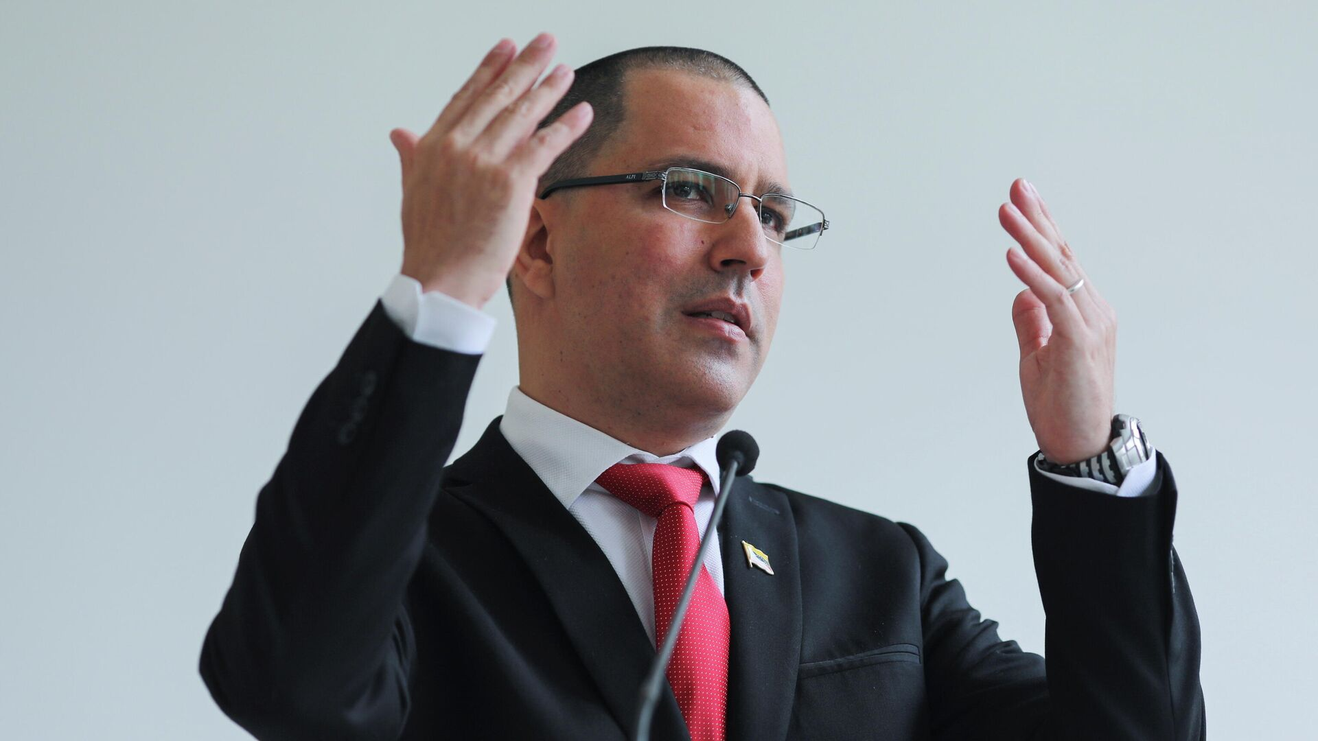 Jorge Arreaza, canciller de Venezuela - Sputnik Mundo, 1920, 25.02.2021