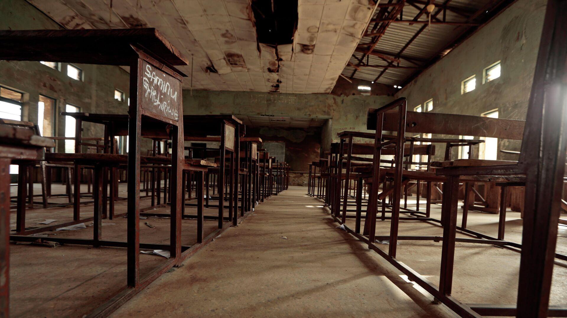 Una escuela en Nigeria - Sputnik Mundo, 1920, 18.06.2021