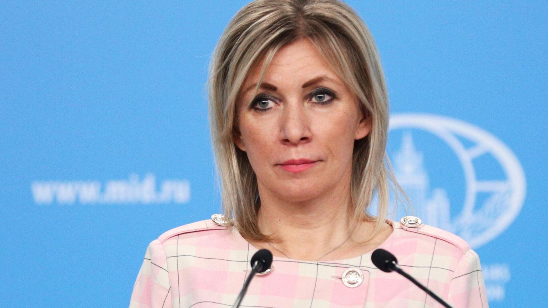 María Zajárova, portavoz del Ministerio de Asuntos Exteriores de Rusia - Sputnik Mundo, 1920, 26.02.2021