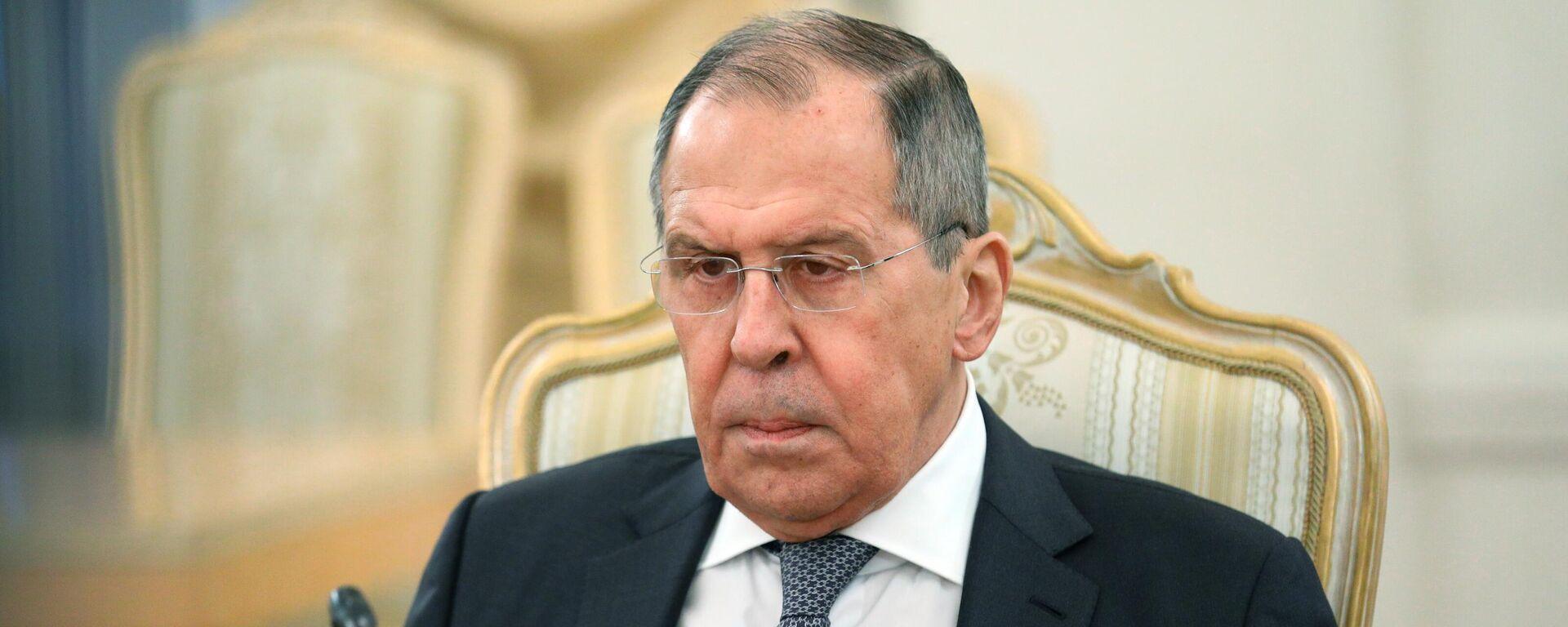 Serguéi Lavrov, canciller de Rusia - Sputnik Mundo, 1920, 09.06.2021