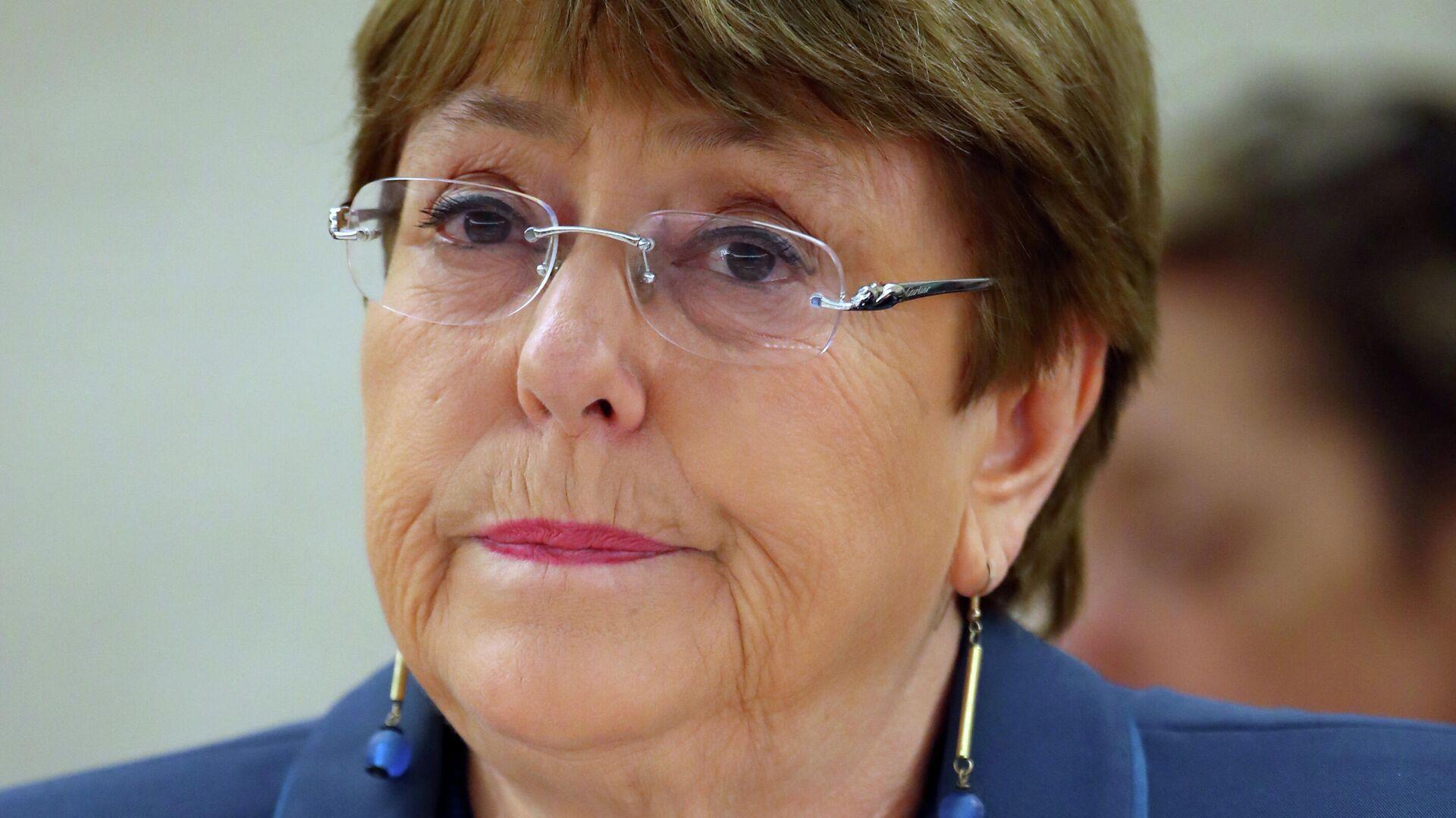 Michelle Bachelet, Alta Comisionada de la ONU para los DDHH - Sputnik Mundo, 1920, 13.04.2021