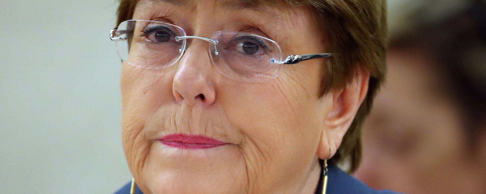 Michelle Bachelet, Alta Comisionada de la ONU para los DDHH - Sputnik Mundo, 1920, 21.06.2021