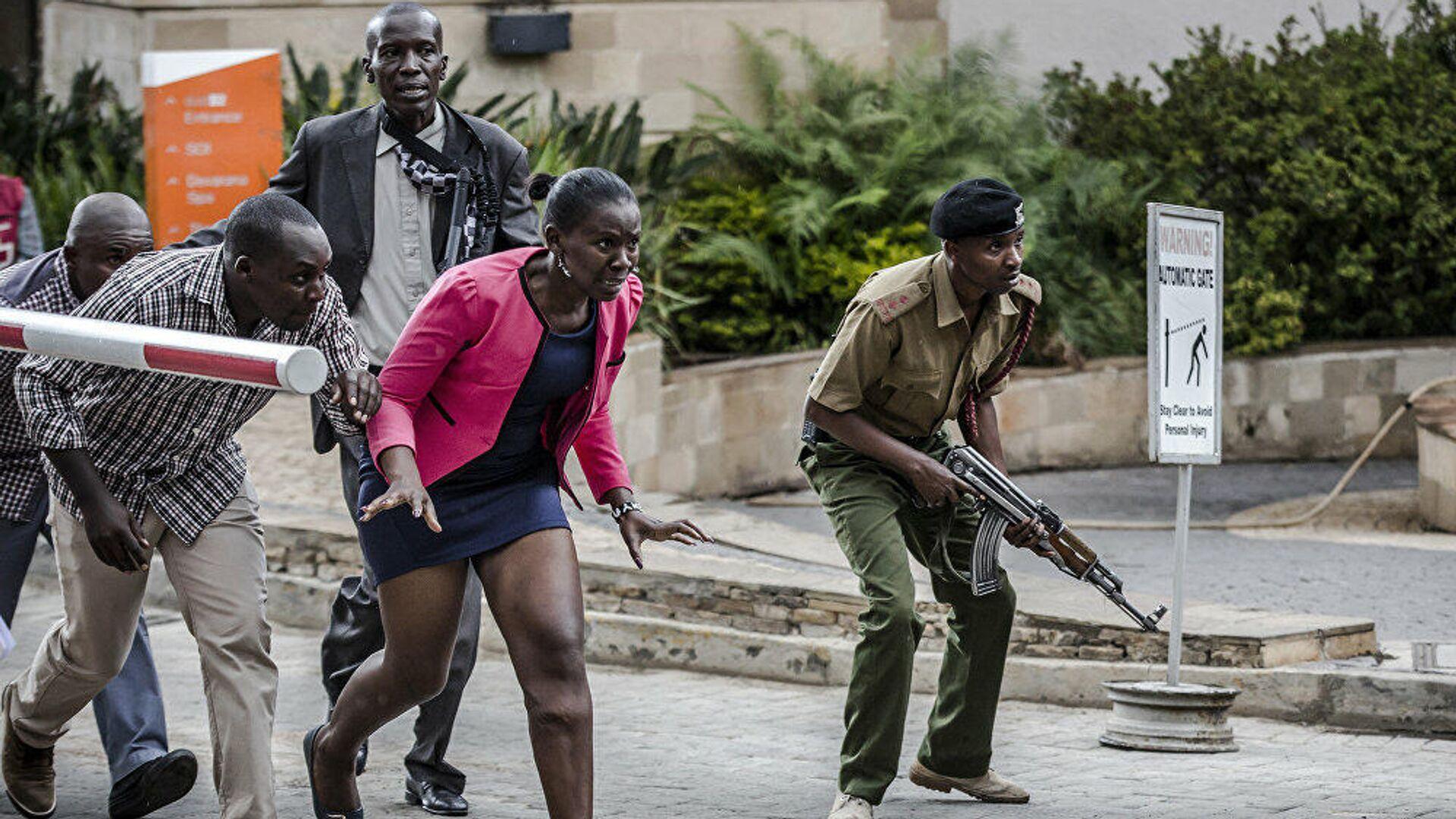 Fotos del español Luis Tato sobre el ataque terrorista contra un hotel en Nairobi en enero de 2019 - Sputnik Mundo, 1920, 26.02.2021