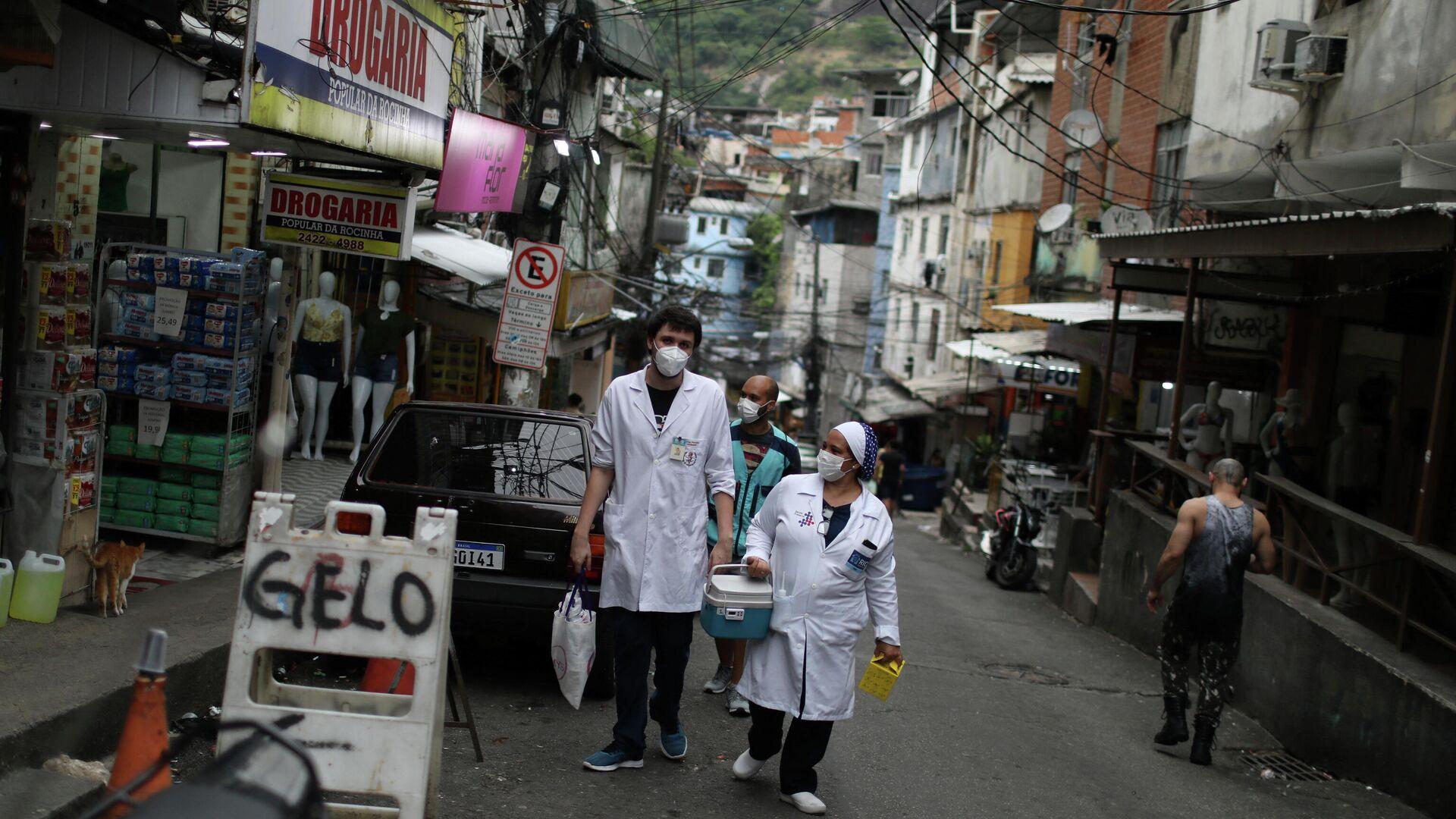 Médicos en las calles de Río de Janeiro - Sputnik Mundo, 1920, 26.02.2021