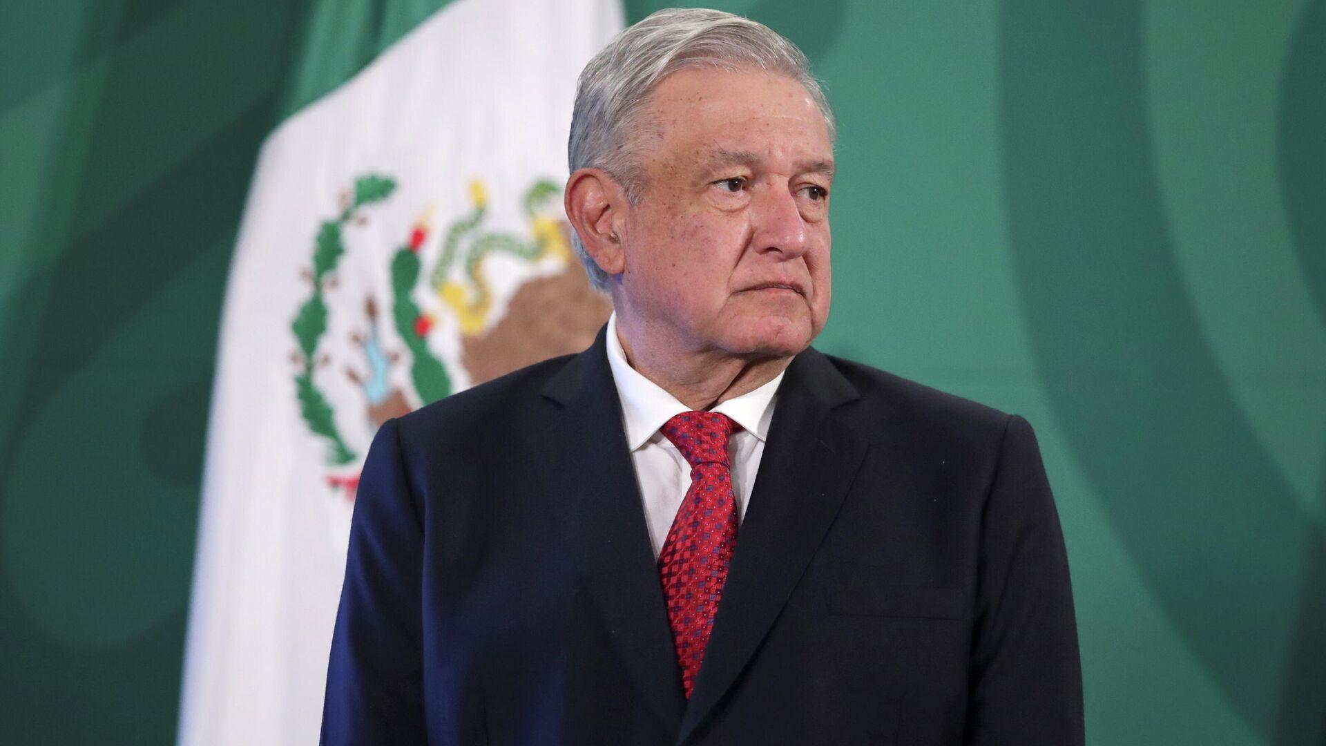 Andrés Manuel López Obrador, presidente de México - Sputnik Mundo, 1920, 26.02.2021