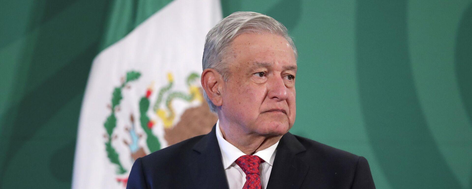 Andrés Manuel López Obrador, presidente de México - Sputnik Mundo, 1920, 26.05.2021