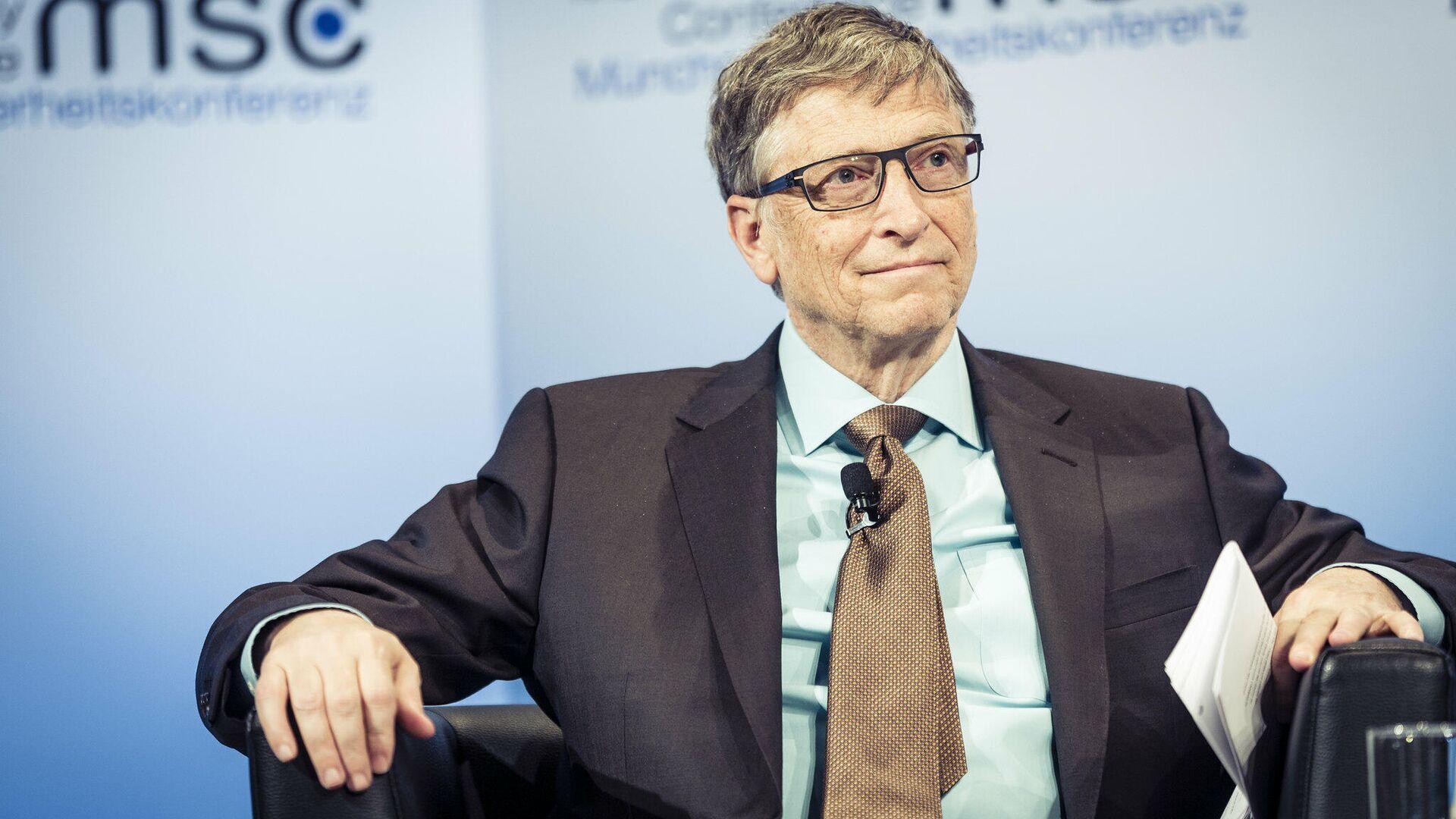 El fundador de Microsoft Bill Gates (archivo) - Sputnik Mundo, 1920, 26.02.2021