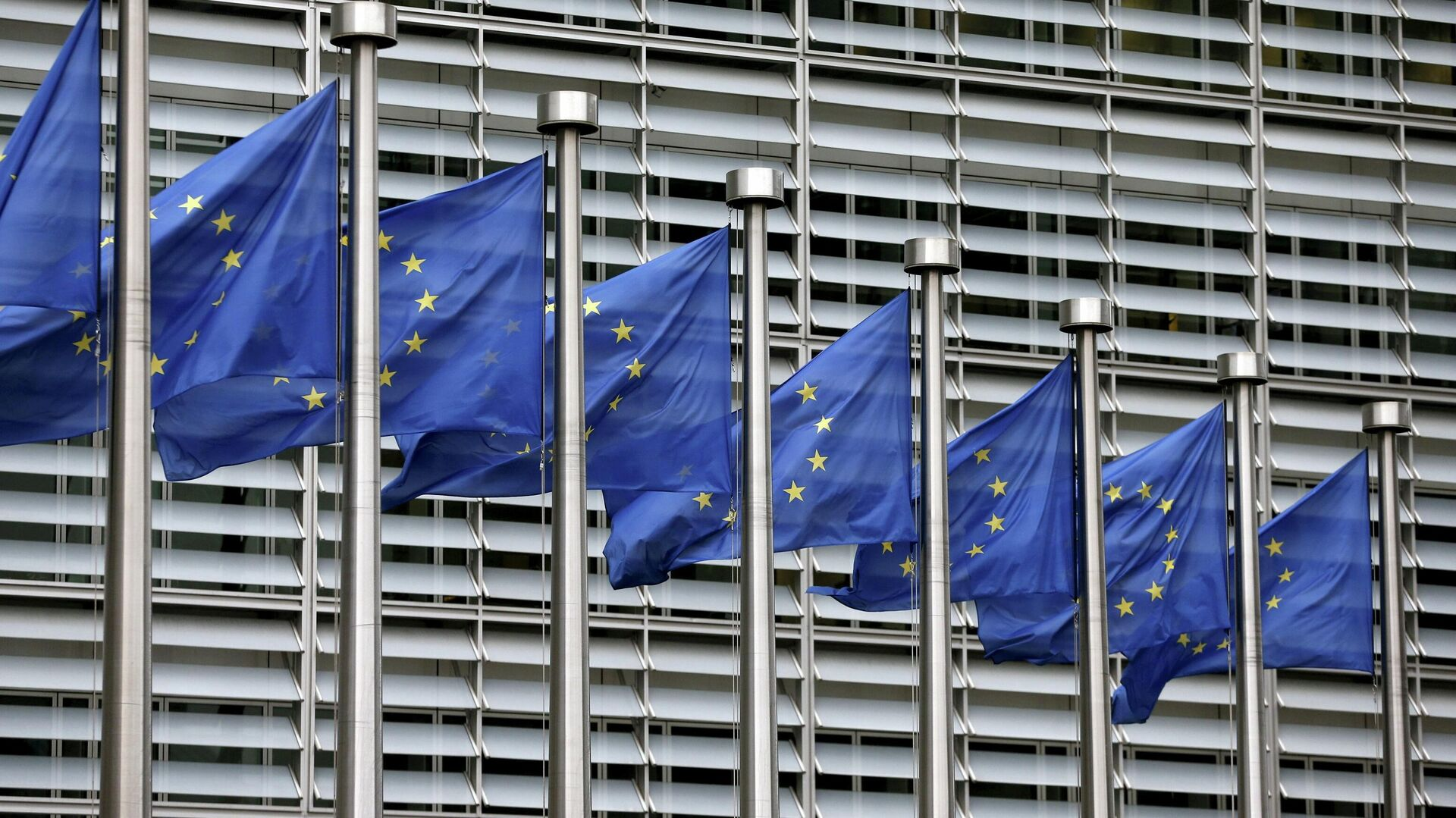 Bandera de la UE - Sputnik Mundo, 1920, 18.03.2021