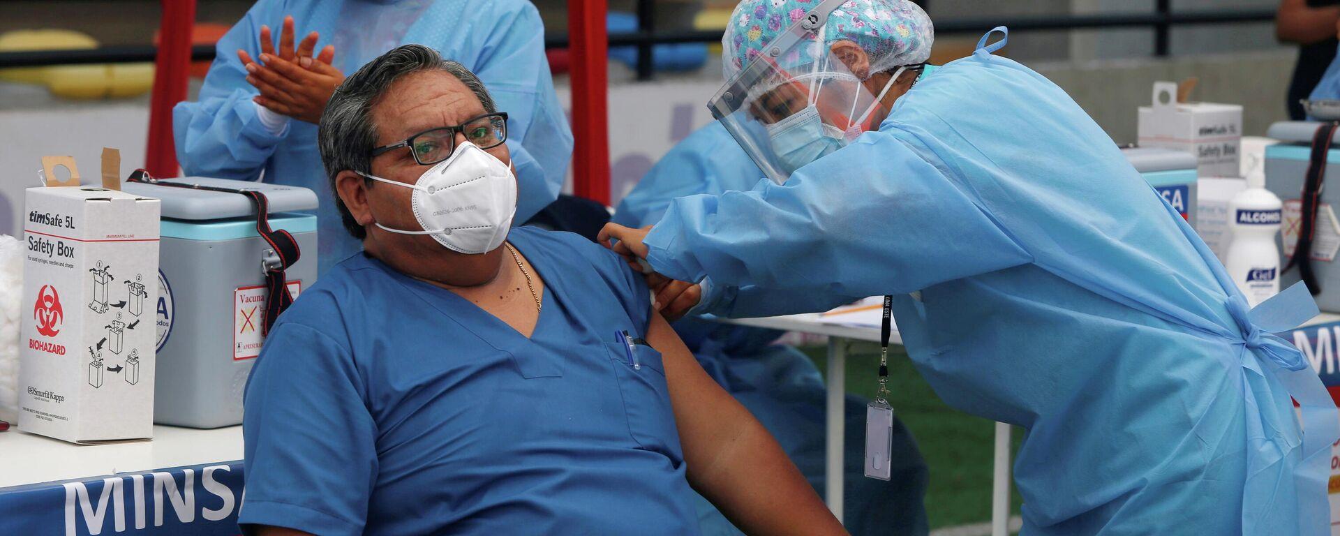 Vacunación en Lima, Perú - Sputnik Mundo, 1920, 21.05.2021