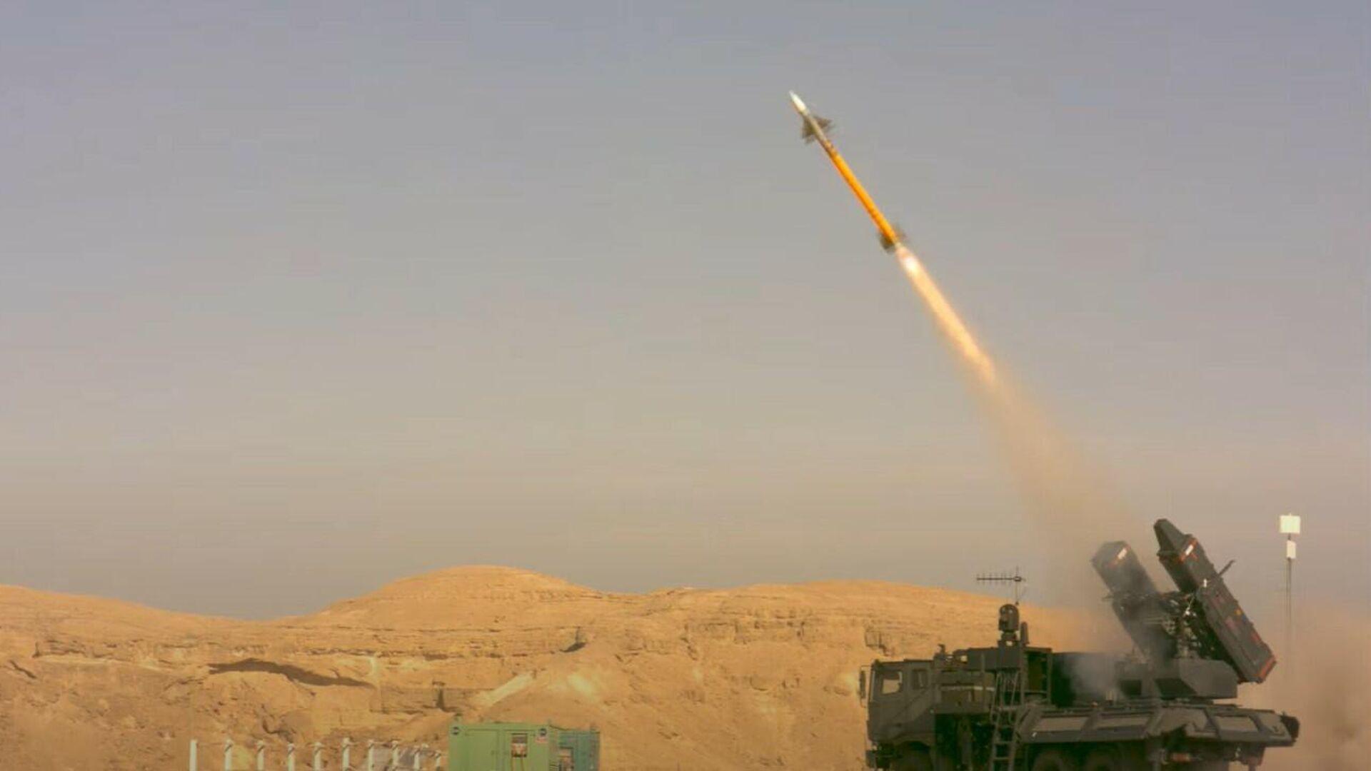 Prueba de una versión modernizada del misil aire-aire israelí I-Derby ER  - Sputnik Mundo, 1920, 26.02.2021