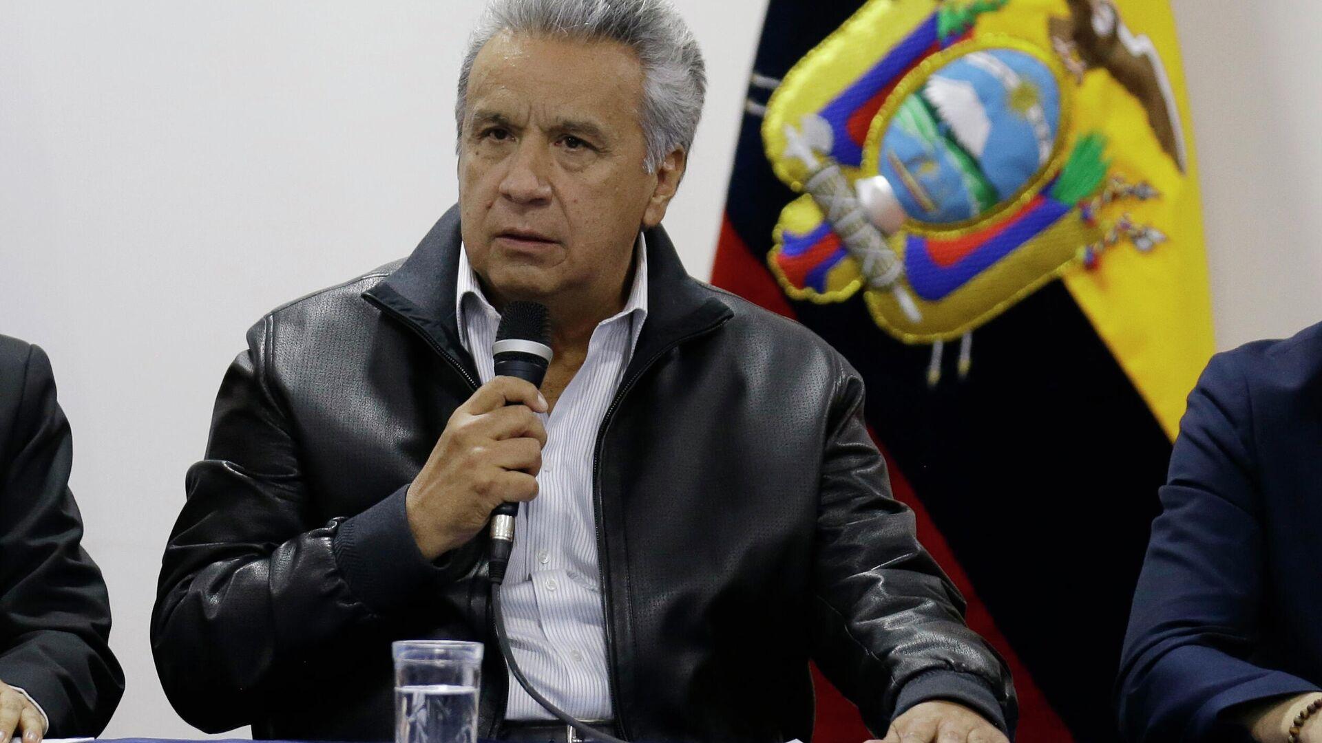 Lenín Moreno, presidente de Ecuador - Sputnik Mundo, 1920, 26.02.2021