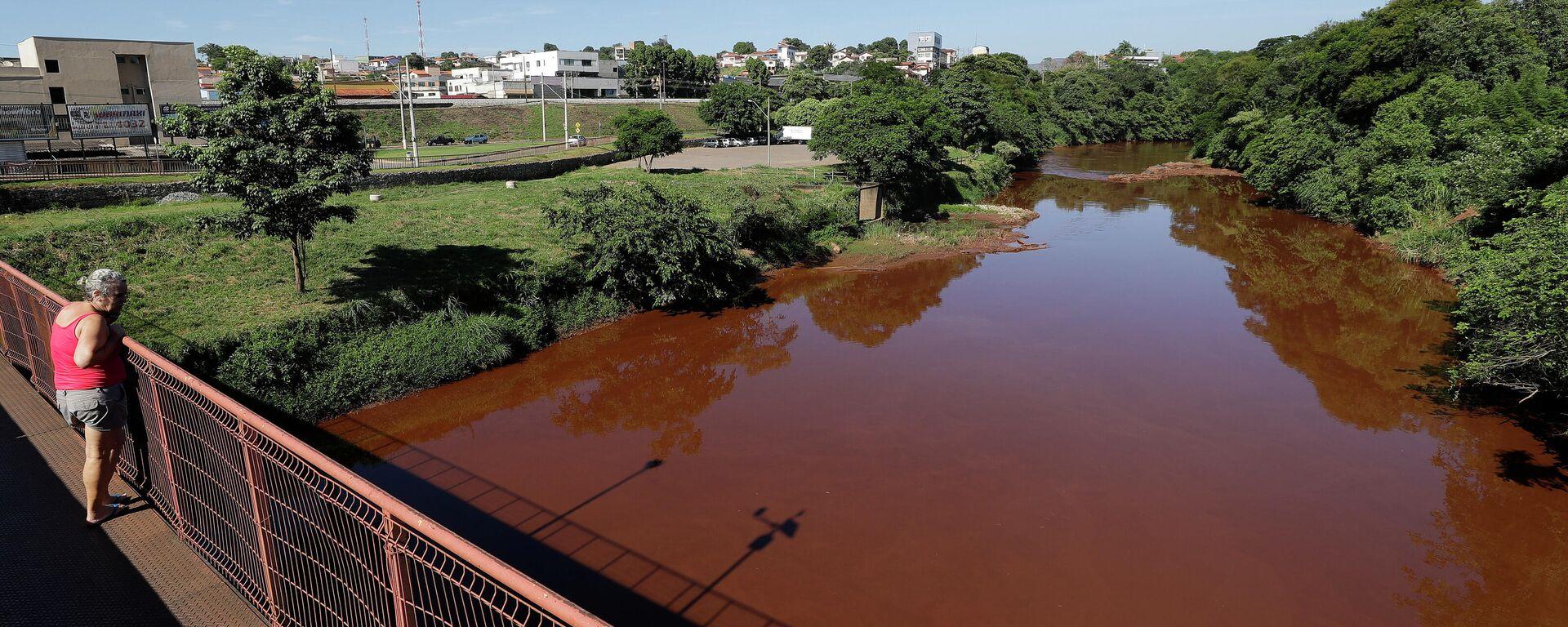 La contaminación del río Paraopeba - Sputnik Mundo, 1920, 26.02.2021