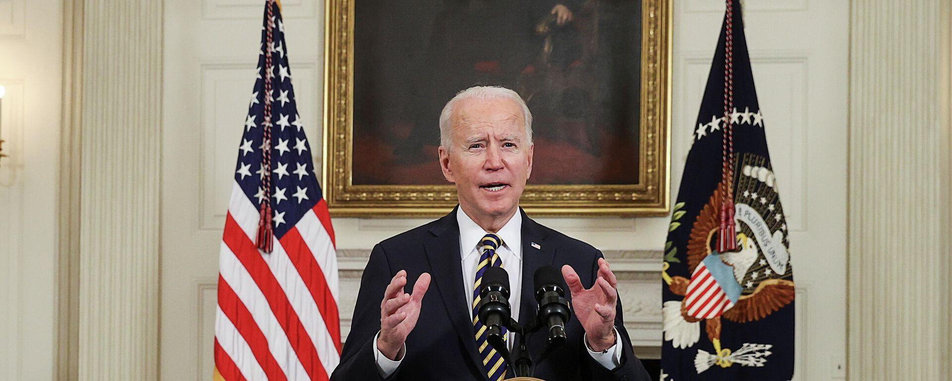 Joe Biden, presidente de EEUU - Sputnik Mundo, 1920, 09.03.2021