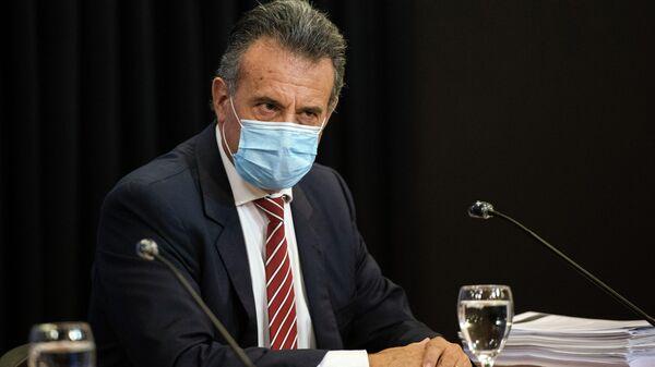 Daniel Salinas, ministro de Salud de Uruguay - Sputnik Mundo