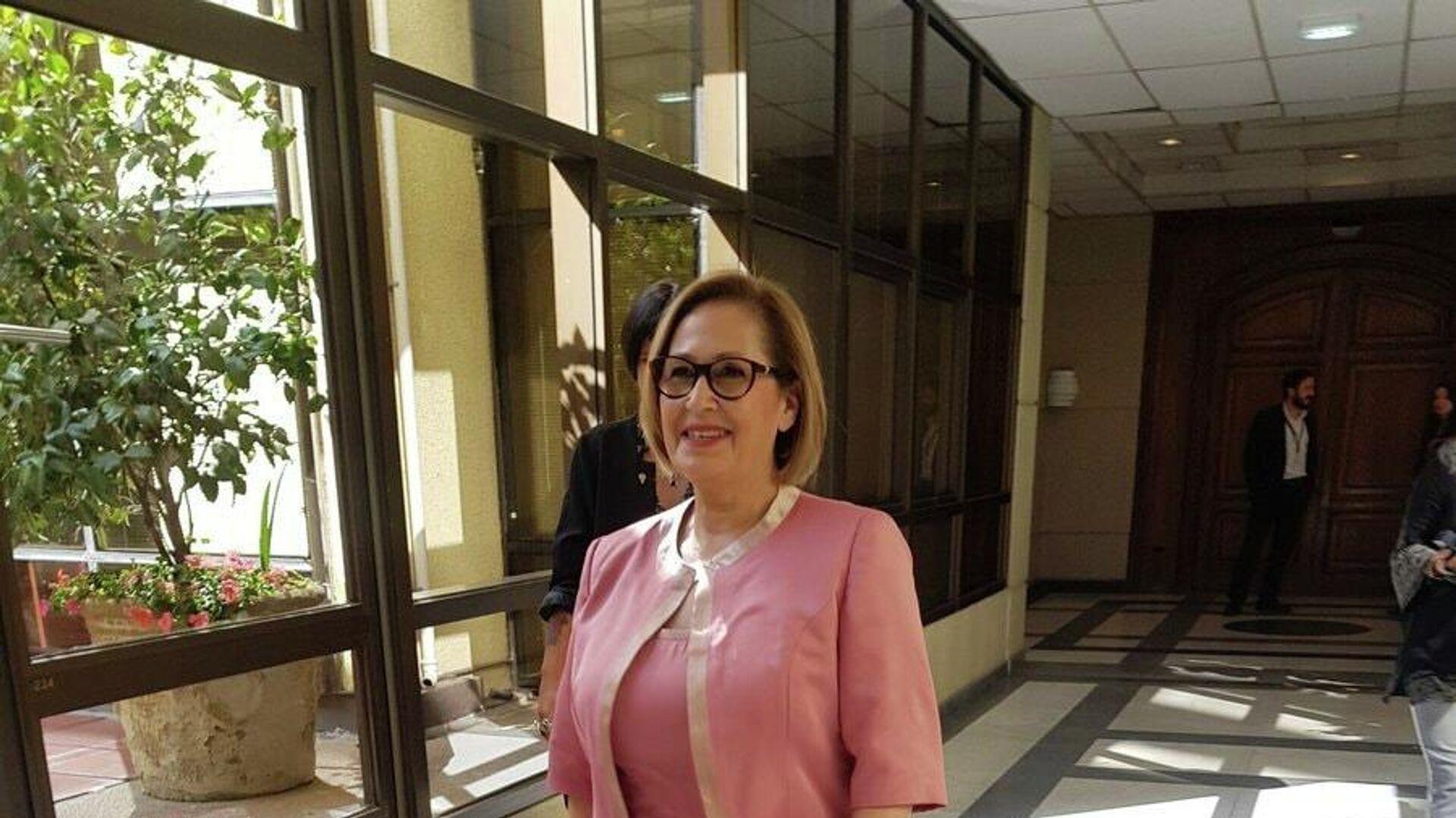 Adriana Muñoz, presidenta del Senado de Chile - Sputnik Mundo, 1920, 27.02.2021