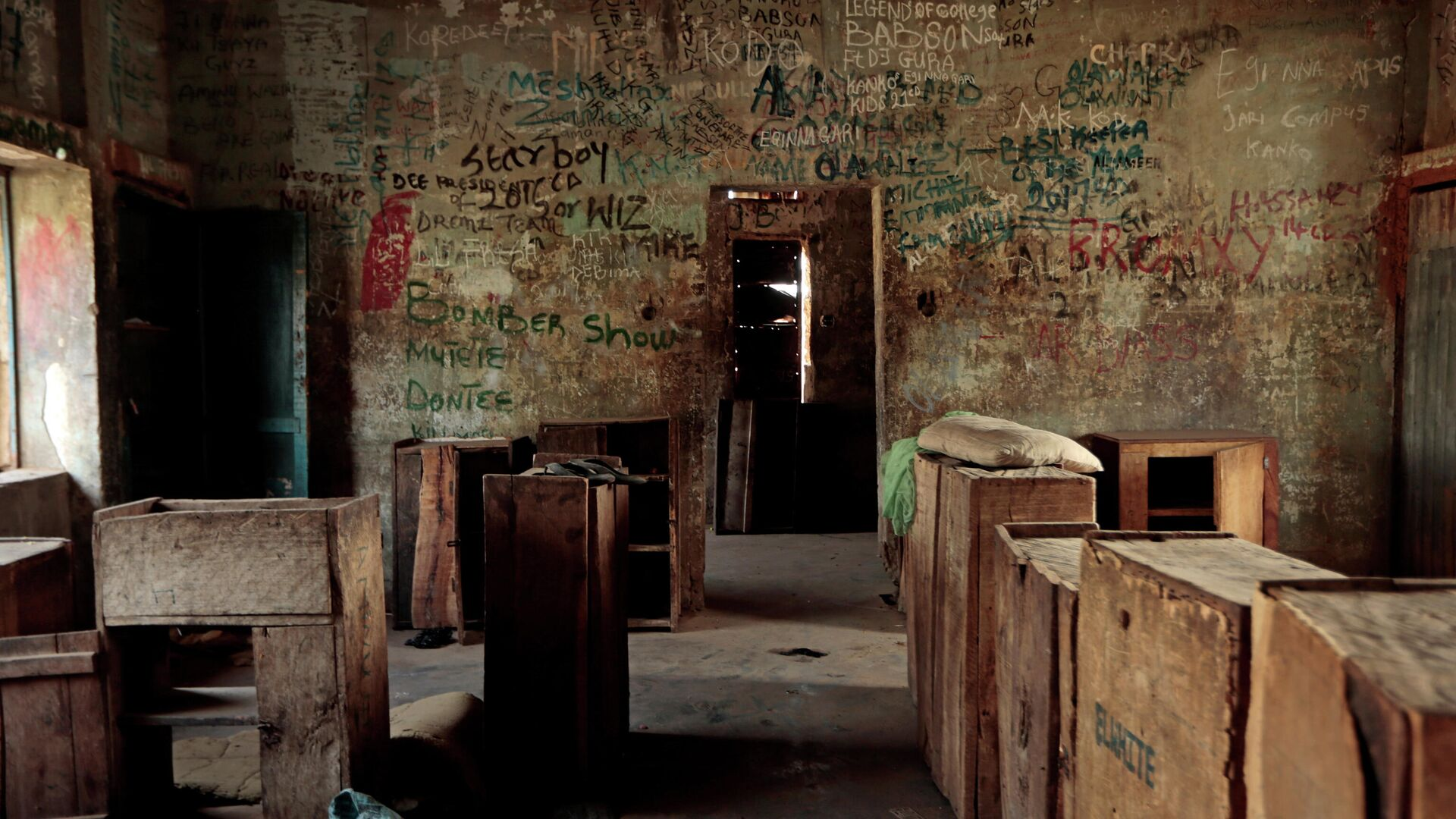 Una aula en la Escuela de Ciencias del Gobierno de Kagara, Nigeria - Sputnik Mundo, 1920, 27.02.2021