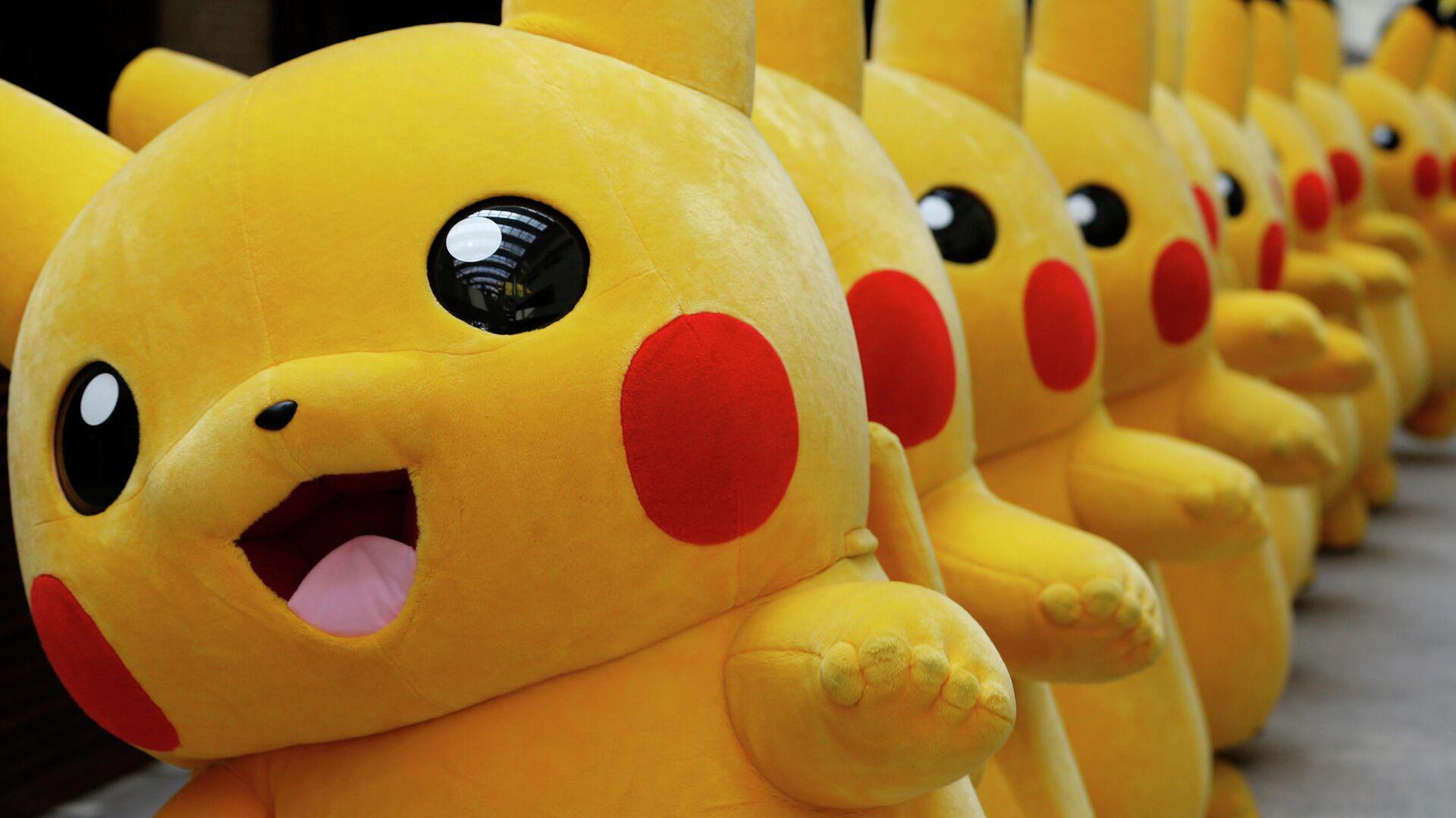 Numerosas personas disfrazadas de Pikachu en un evento en Yokohama, Japón - Sputnik Mundo, 1920, 27.02.2021