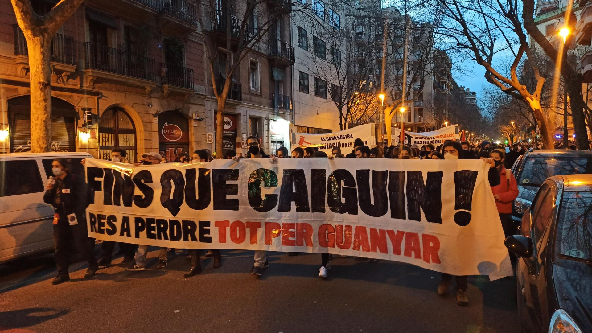Protesta en Barcelona  - Sputnik Mundo, 1920, 27.02.2021