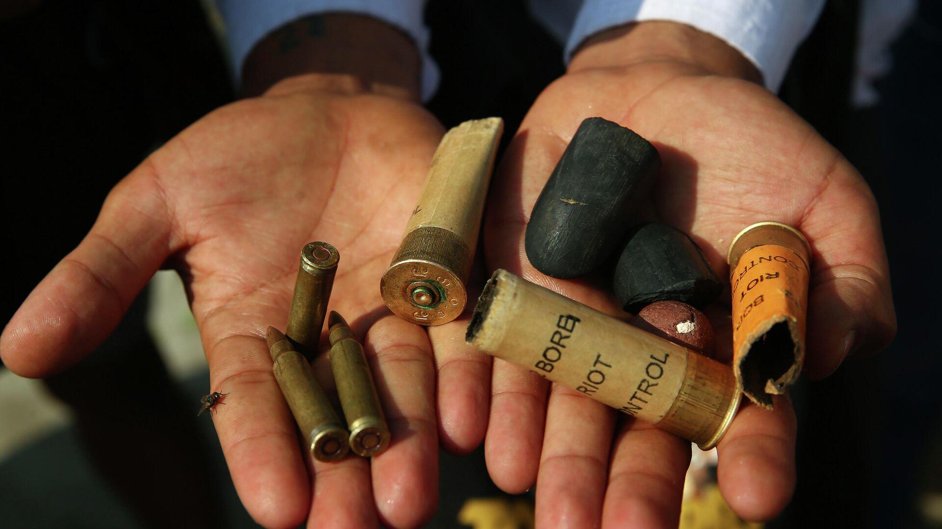 Las municiones que usaron las fuerzas de seguridad contra los manifestantes en Birmania - Sputnik Mundo, 1920, 28.02.2021