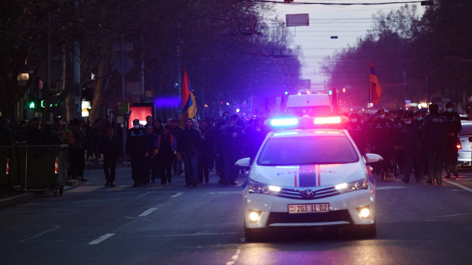 Protestas en Ereván - Sputnik Mundo, 1920, 01.03.2021