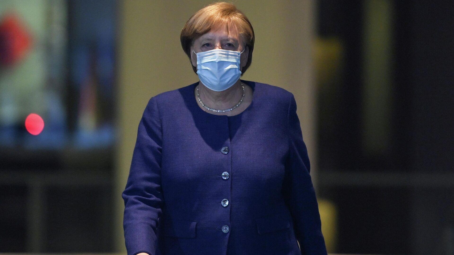 Angela Merkel, canciller federal alemana - Sputnik Mundo, 1920, 01.03.2021