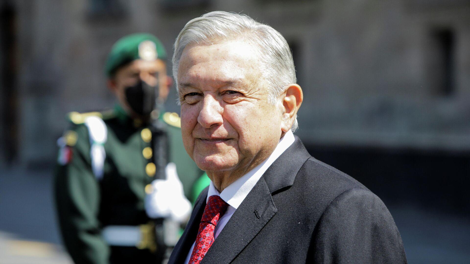 Andrés Manuel López Obrador, presidente de México - Sputnik Mundo, 1920, 01.03.2021