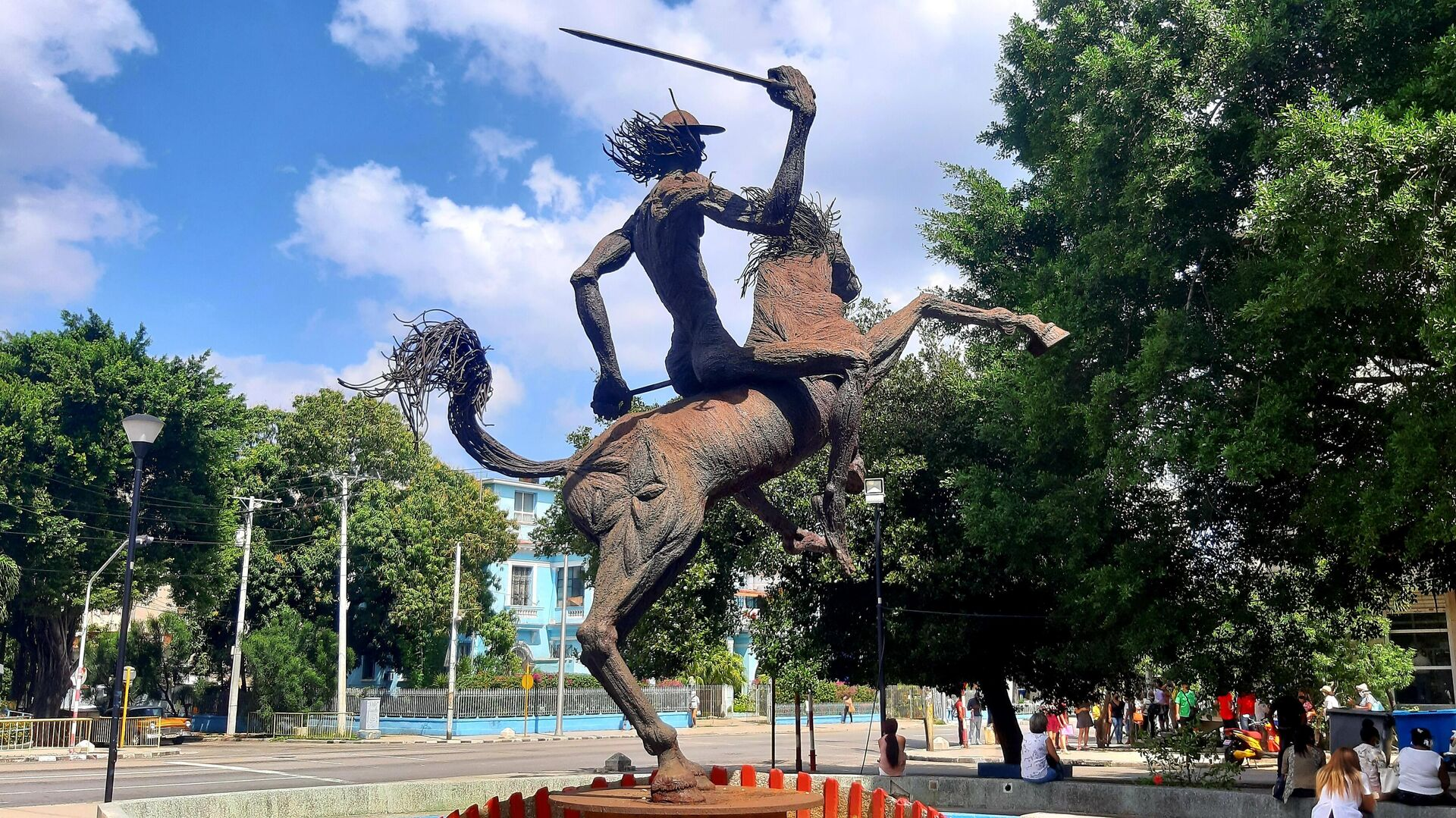 Estatua de Don Quijote de la Mancha, La Habana  - Sputnik Mundo, 1920, 01.03.2021