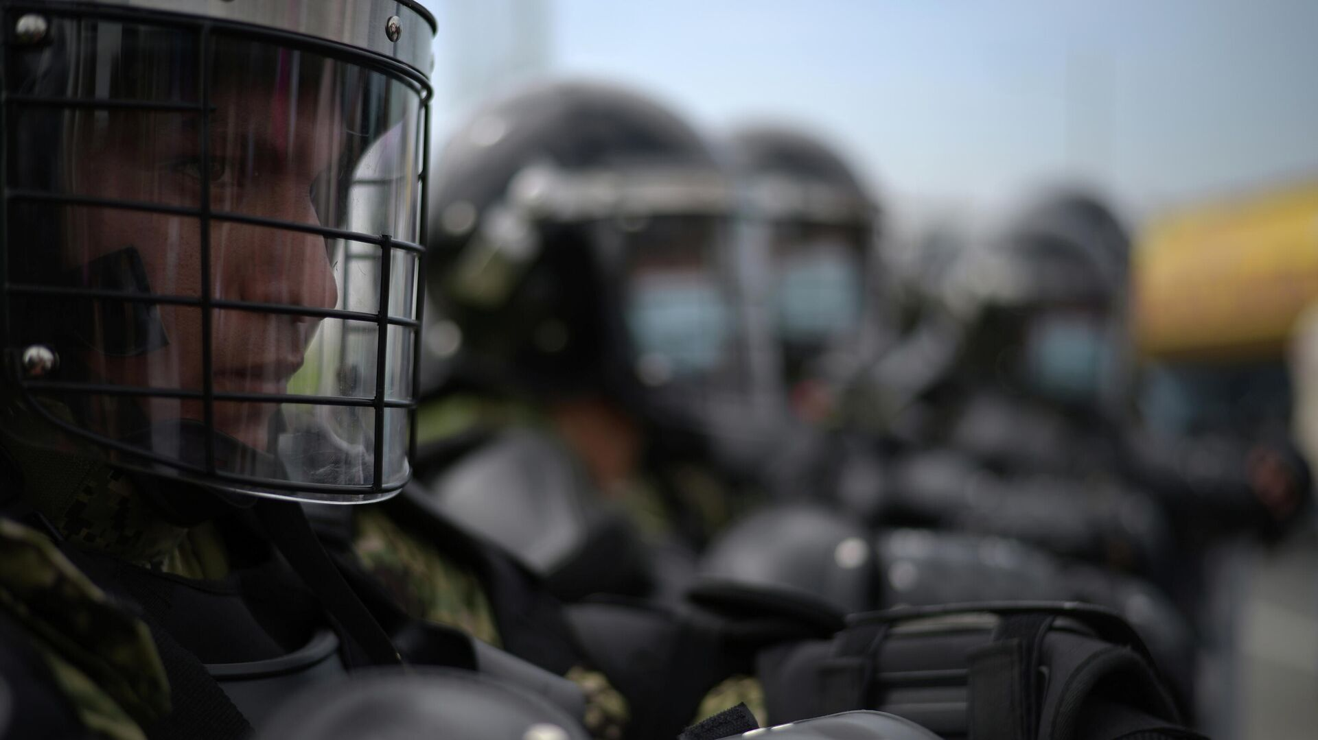 Policía de Ecuador - Sputnik Mundo, 1920, 01.03.2021