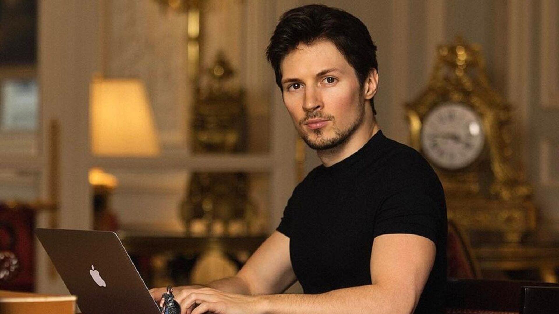 Pável Durov, fundador de Telegram - Sputnik Mundo, 1920, 02.03.2021