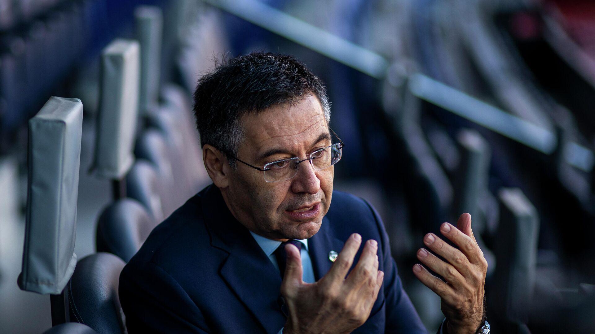 Josep Bartomeu, expresidente de FC Barcelona - Sputnik Mundo, 1920, 02.03.2021