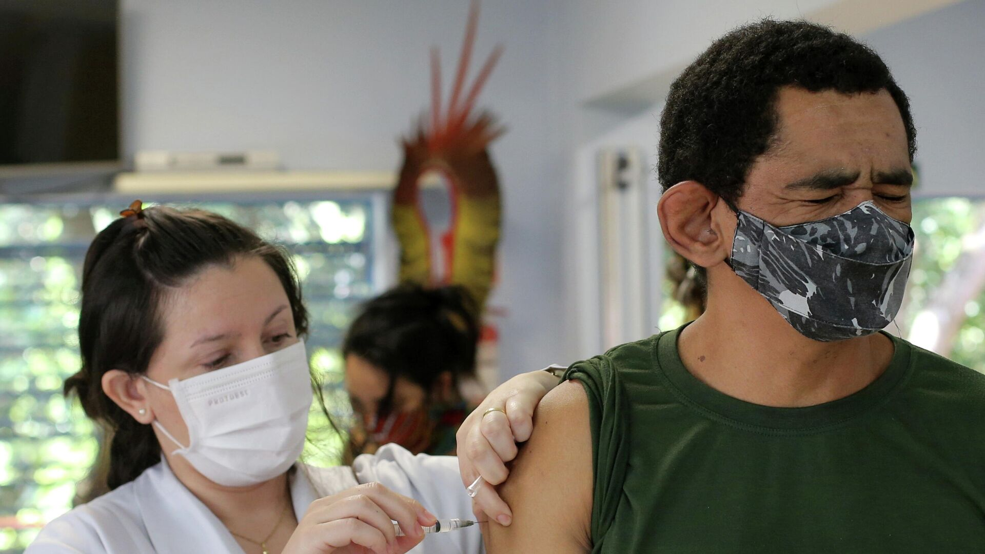 Vacunación en Brasil - Sputnik Mundo, 1920, 03.03.2021
