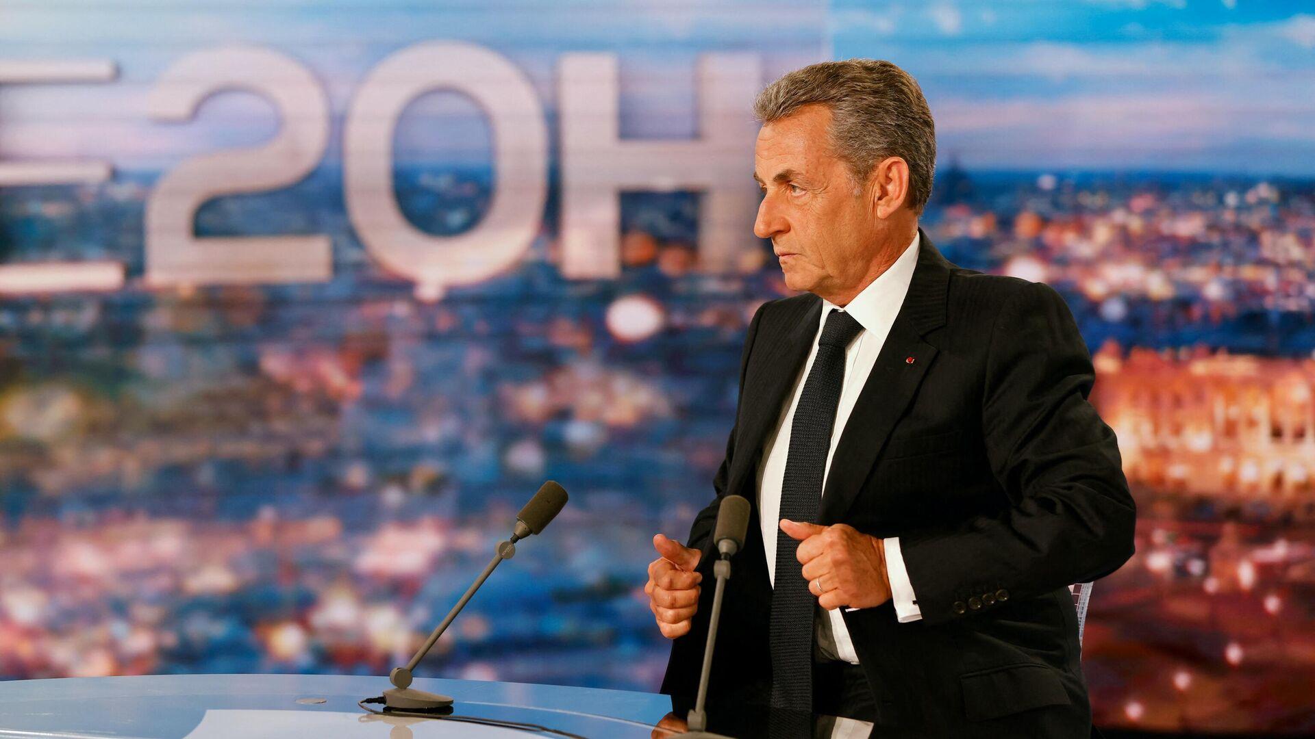 Nicolas Sarkozy, expresidente de Francia - Sputnik Mundo, 1920, 04.03.2021