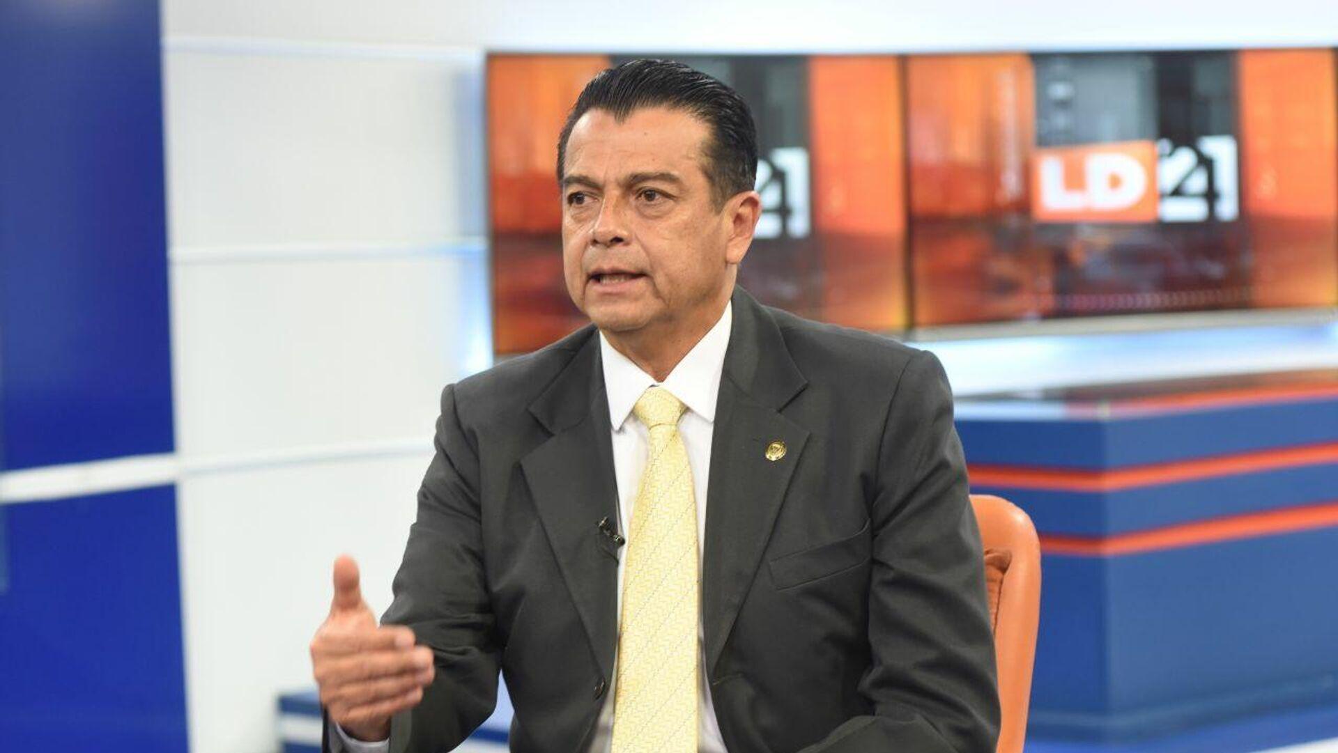 Patricio Pasmiño Castillo, exministro de Gobierno de Ecuador - Sputnik Mundo, 1920, 05.03.2021