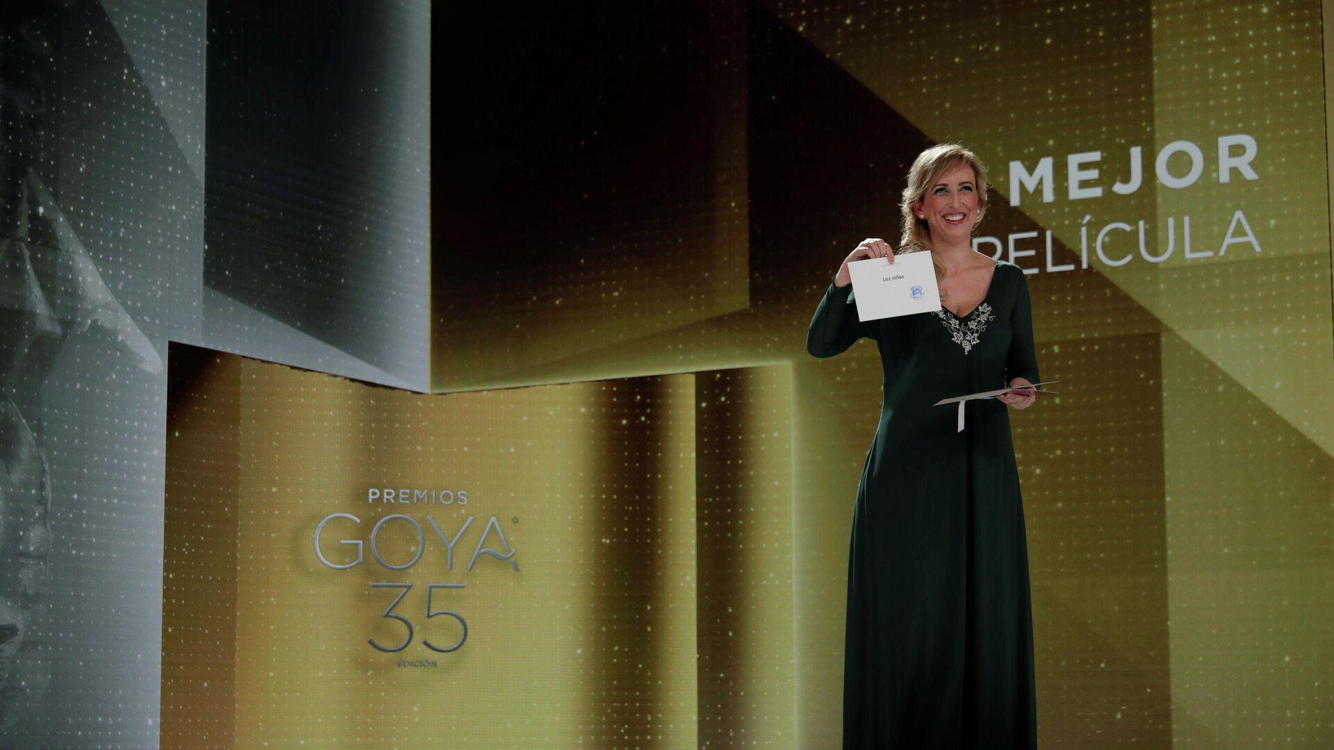 Anuncian el ganador de la mejor película en los Premios Goya 2021 - Sputnik Mundo, 1920, 07.03.2021