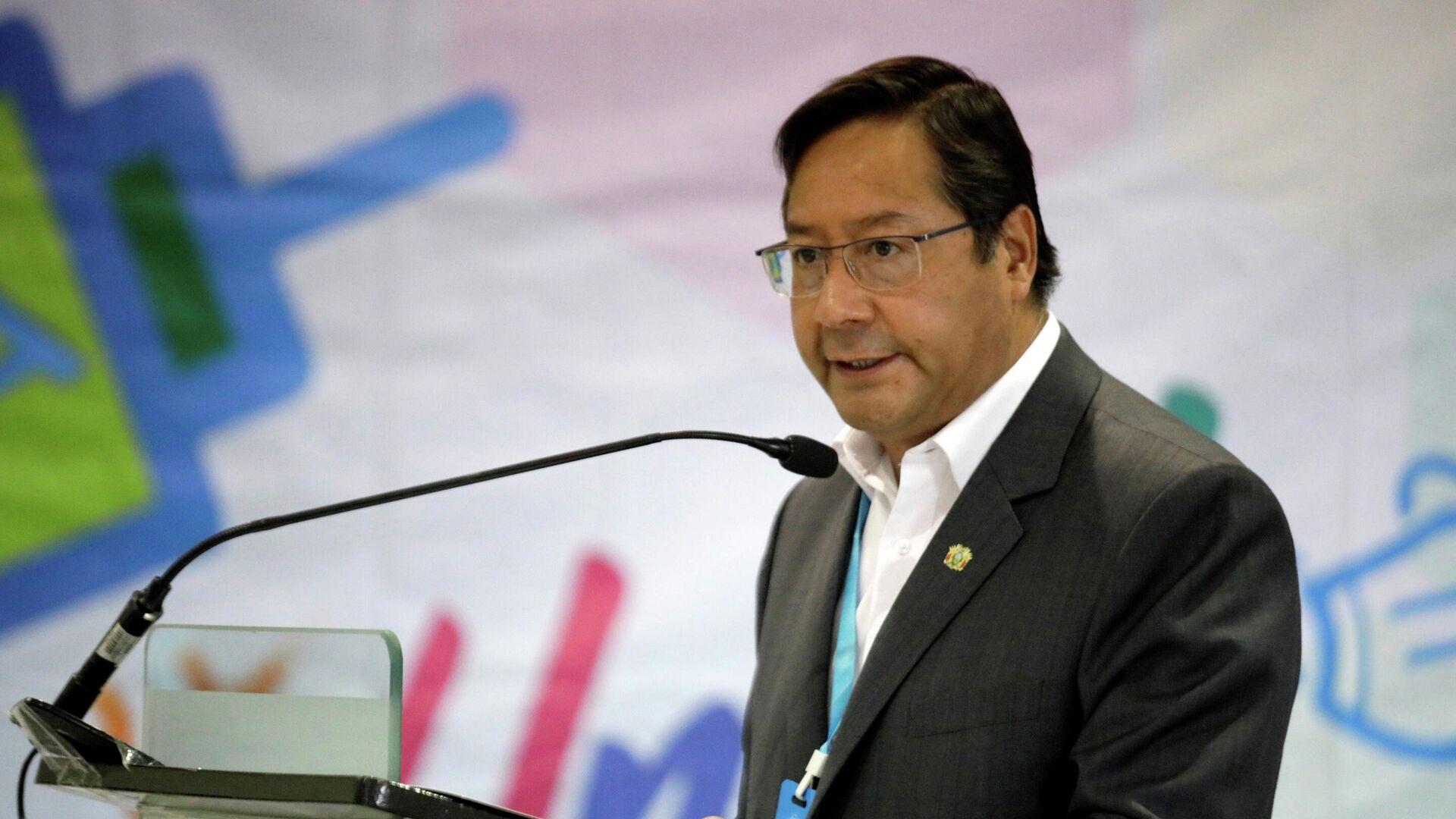 Luis Arce, presidente de Bolivia - Sputnik Mundo, 1920, 07.03.2021