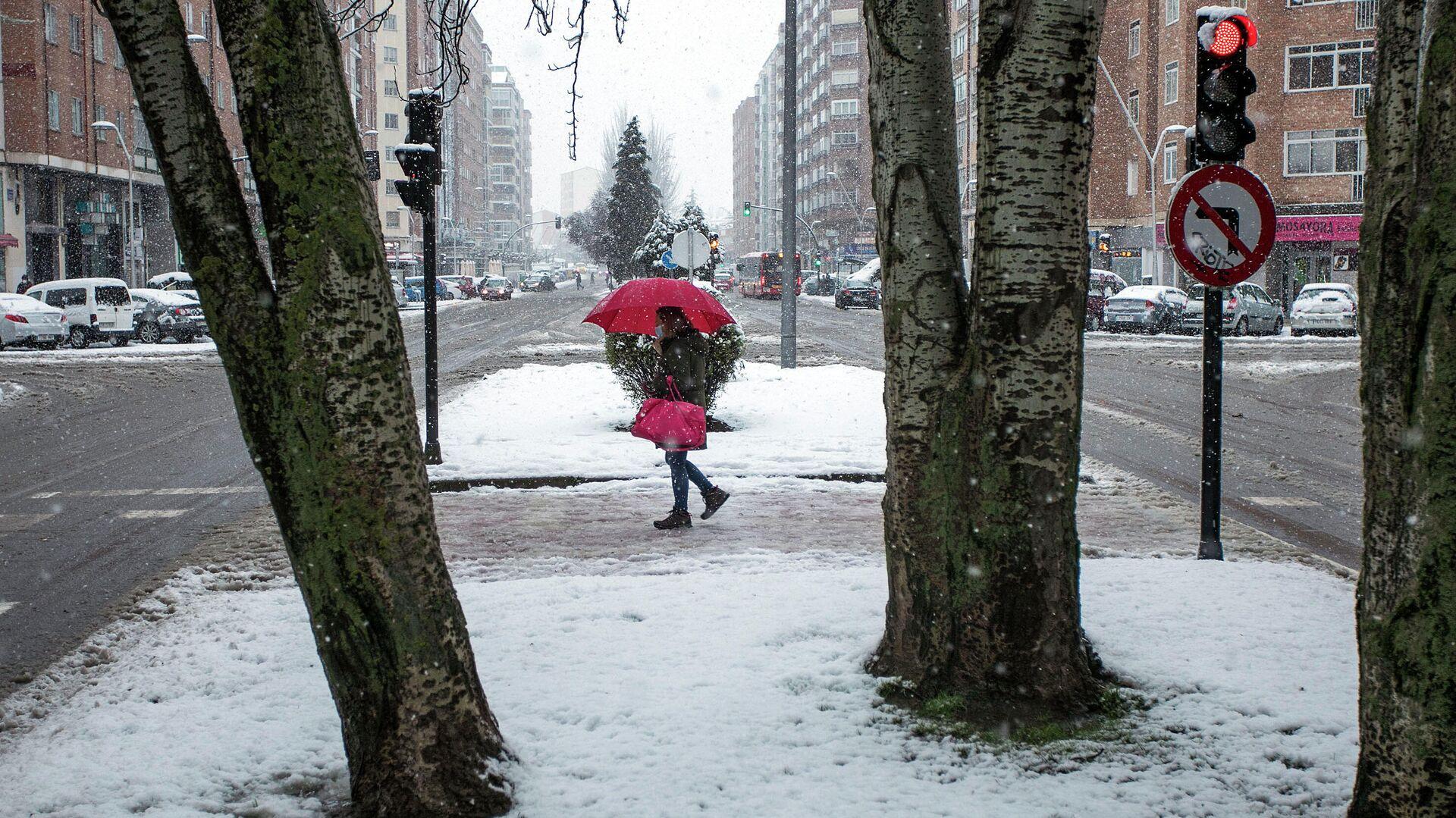 Temporal de nieve en Burgos el 8 de marzo de 2021 - Sputnik Mundo, 1920, 08.03.2021