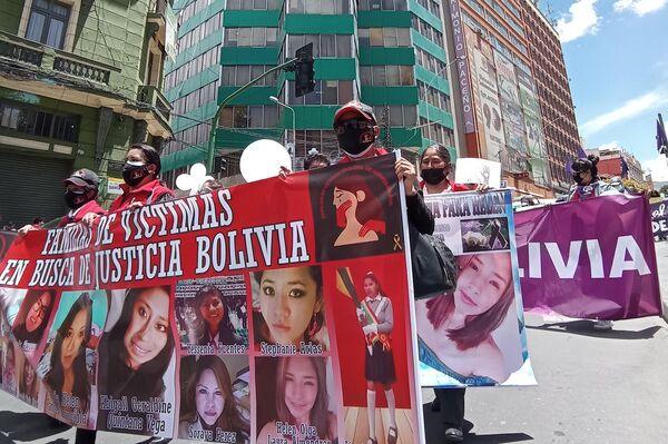 8M en Bolivia - Sputnik Mundo