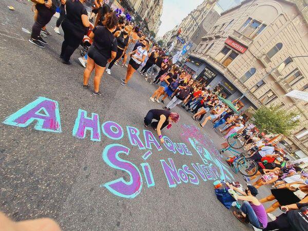 Ahora que Sí Nos Ven es un observatorio de las violencias de género que busca visibilizar y denunciar las violencias machistas que afectan a las mujeres. - Sputnik Mundo