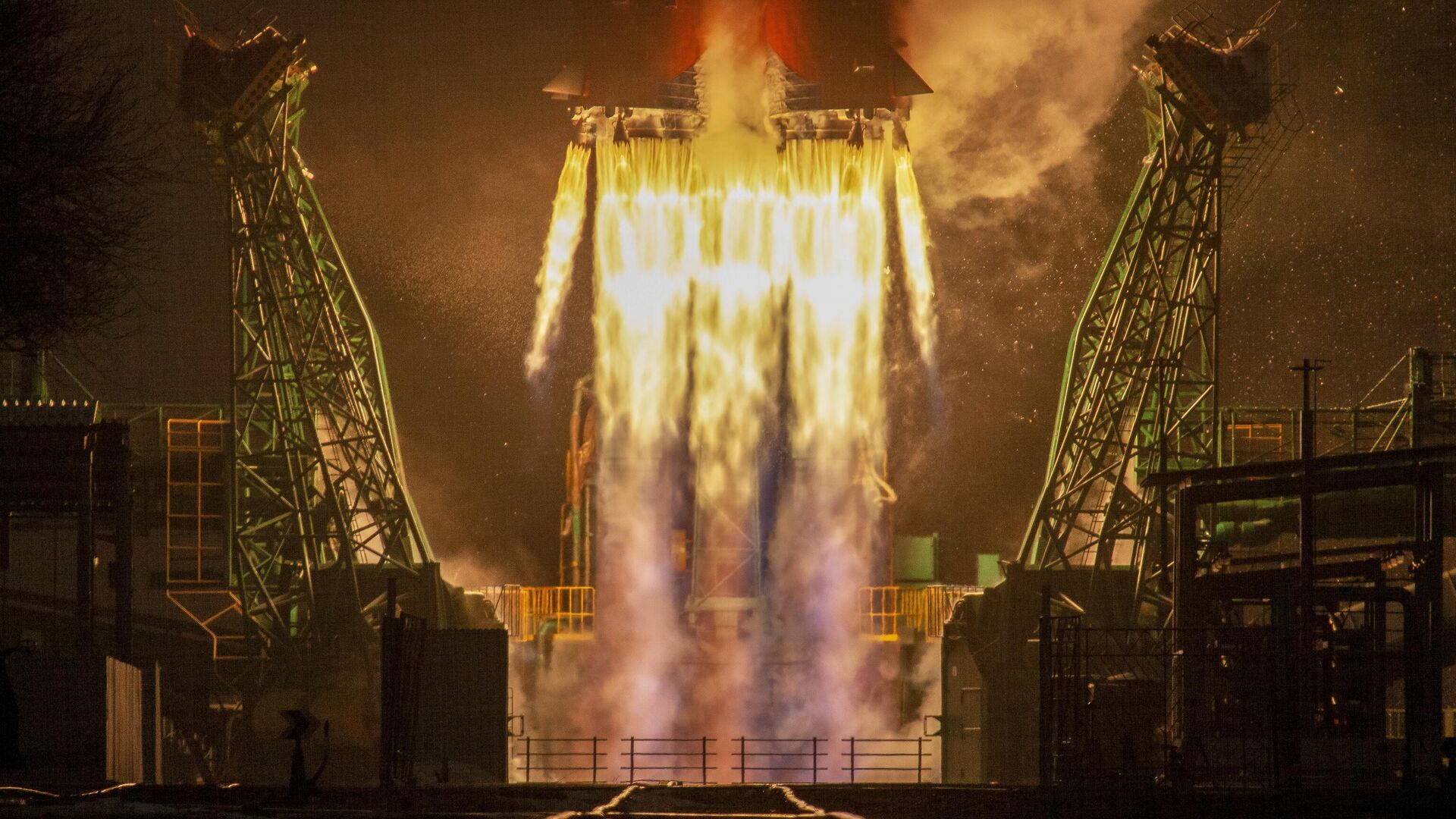 Lanzamiento del cohete de transporte Soyuz-2.16 - Sputnik Mundo, 1920, 31.05.2021