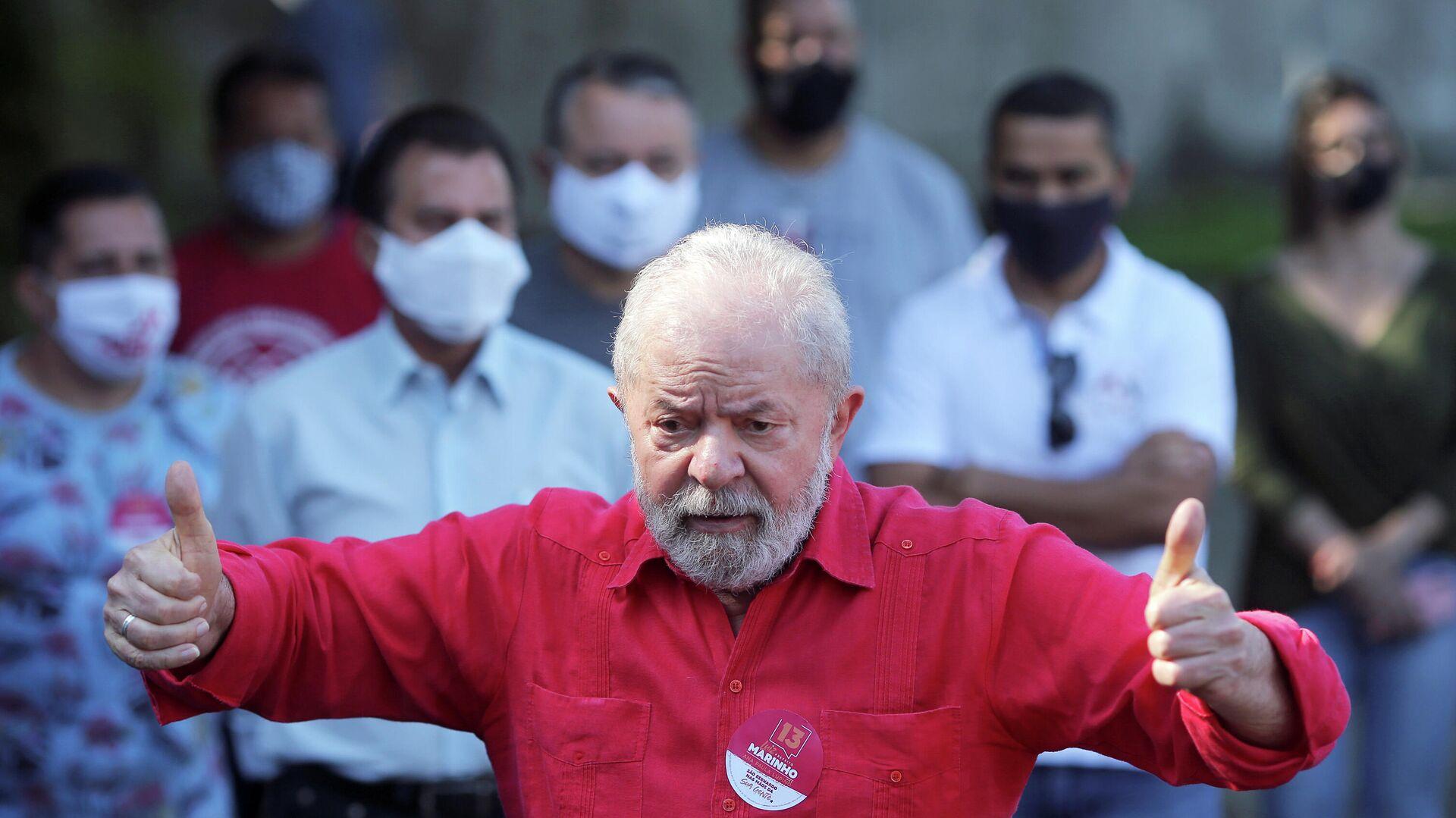 Luiz Inácio Lula da Silva, expresidente de Brasil - Sputnik Mundo, 1920, 15.03.2021