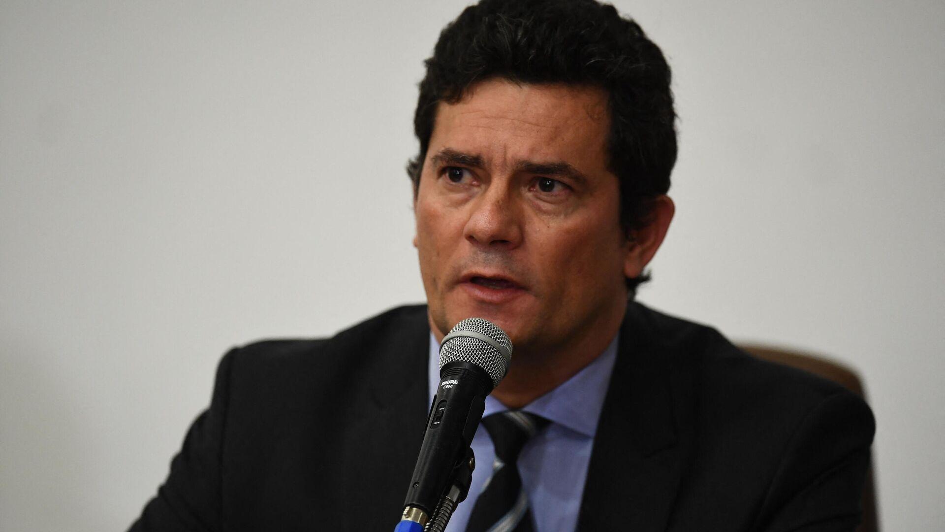 Sérgio Moro, ex juez brasileño - Sputnik Mundo, 1920, 09.03.2021
