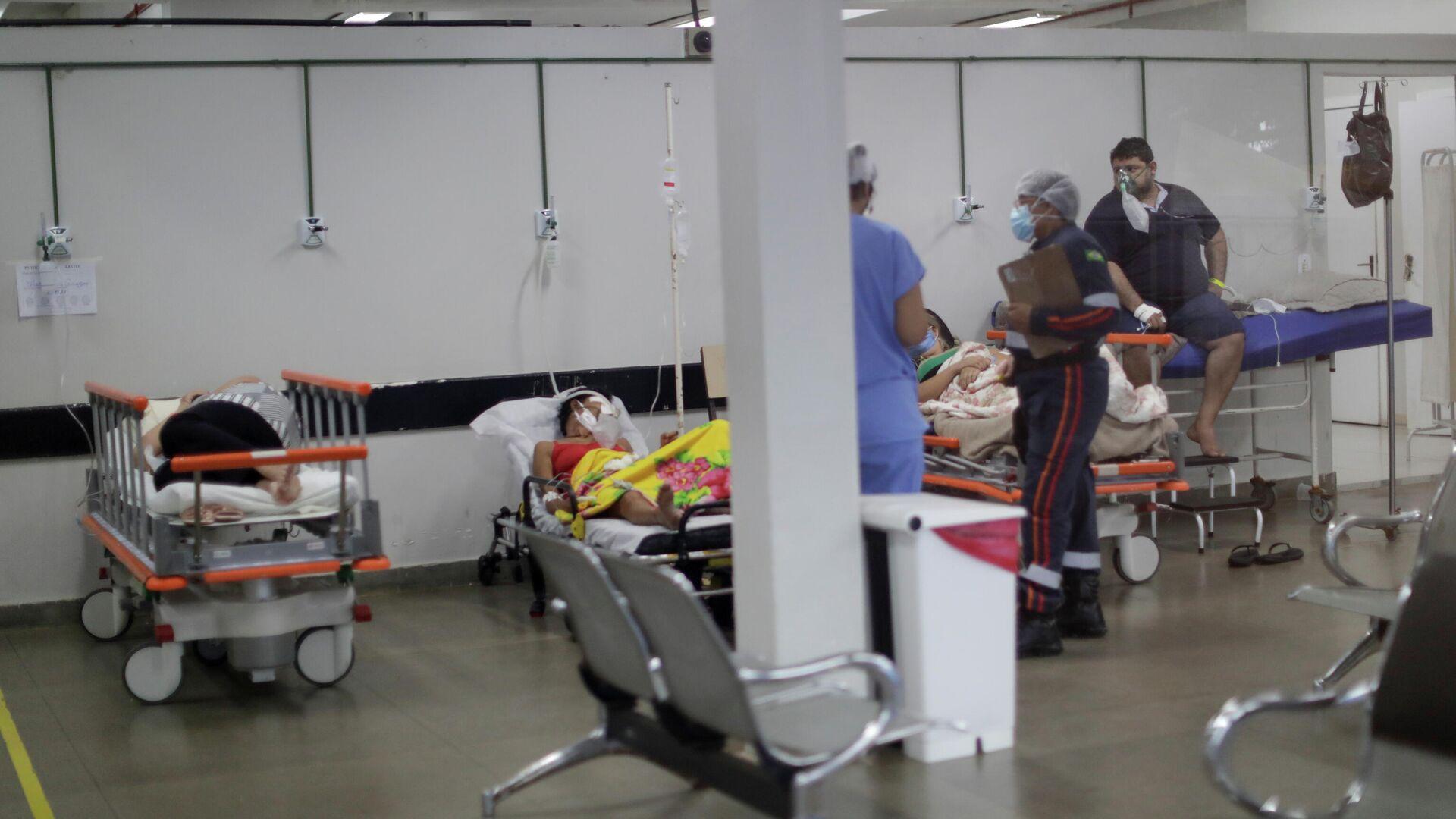 Hospital en Brasilia, Brasil - Sputnik Mundo, 1920, 09.03.2021