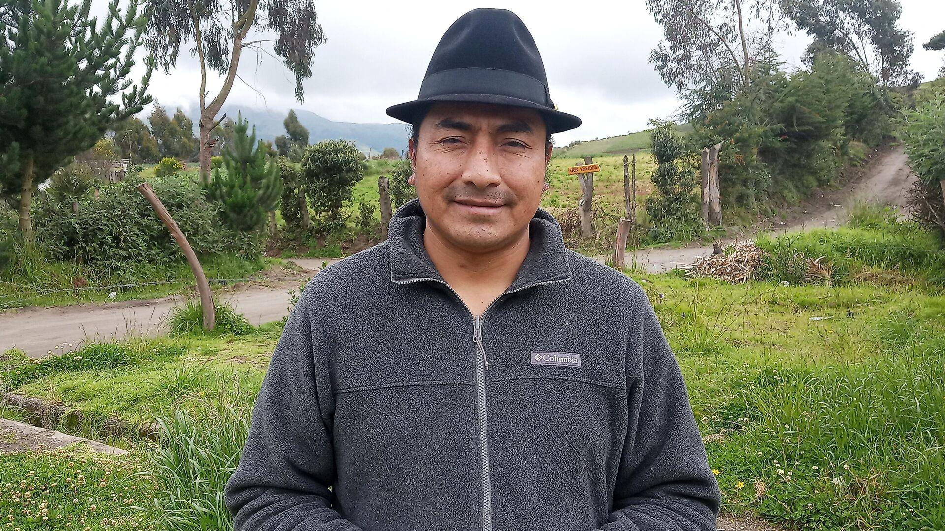 Leonidas Iza, dirigente del Movimiento Indígena Campesino de Cotopaxi - Sputnik Mundo, 1920, 10.03.2021