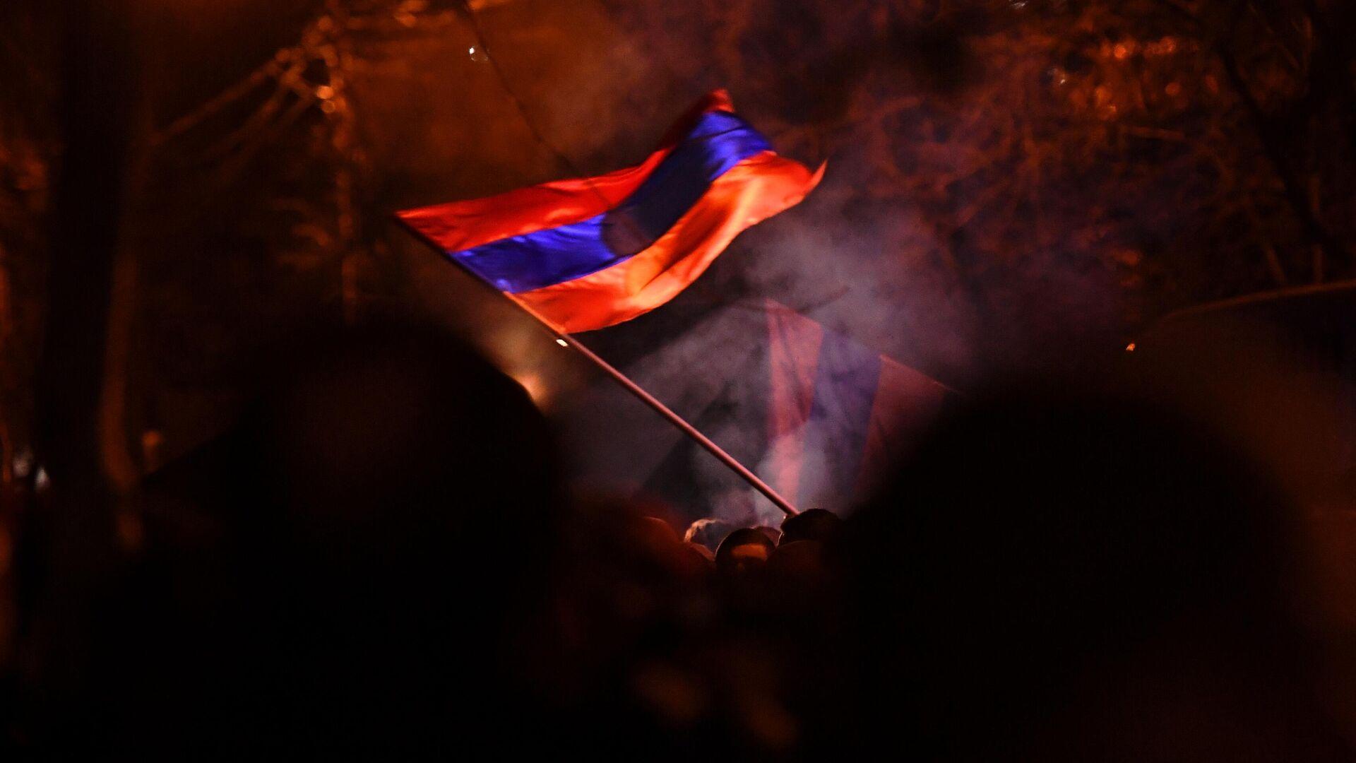 Protestas en Ereván, Armenia. - Sputnik Mundo, 1920, 10.03.2021
