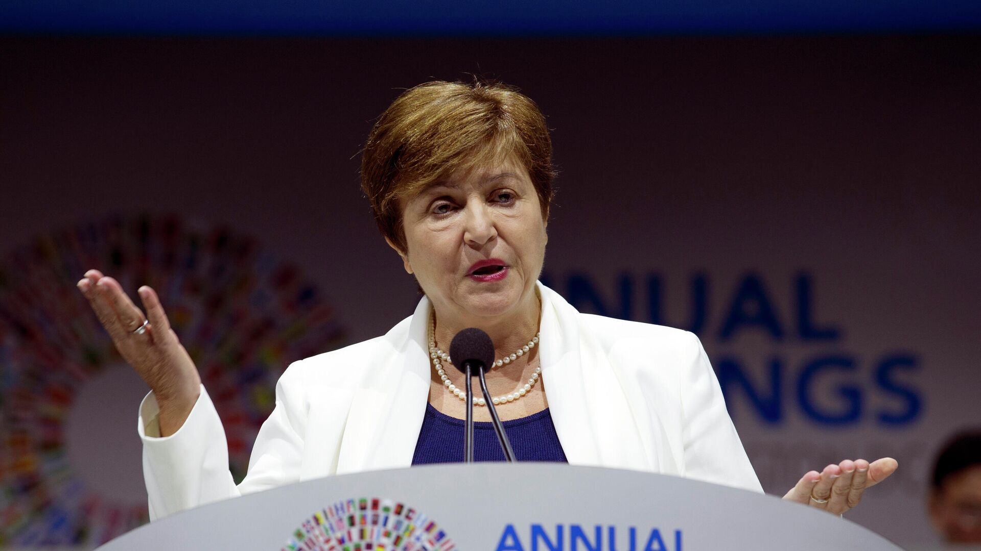 Kristalina Georgieva,  directora gerente del FMI - Sputnik Mundo, 1920, 10.03.2021