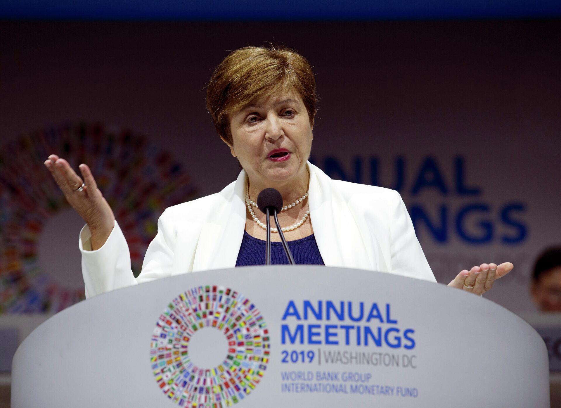Kristalina Georgieva,  directora gerente del FMI - Sputnik Mundo, 1920, 01.07.2021
