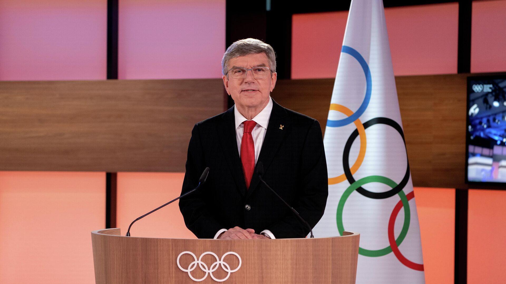 Thomas Bach, el presidente del Comité Olímpico Internacional - Sputnik Mundo, 1920, 10.03.2021